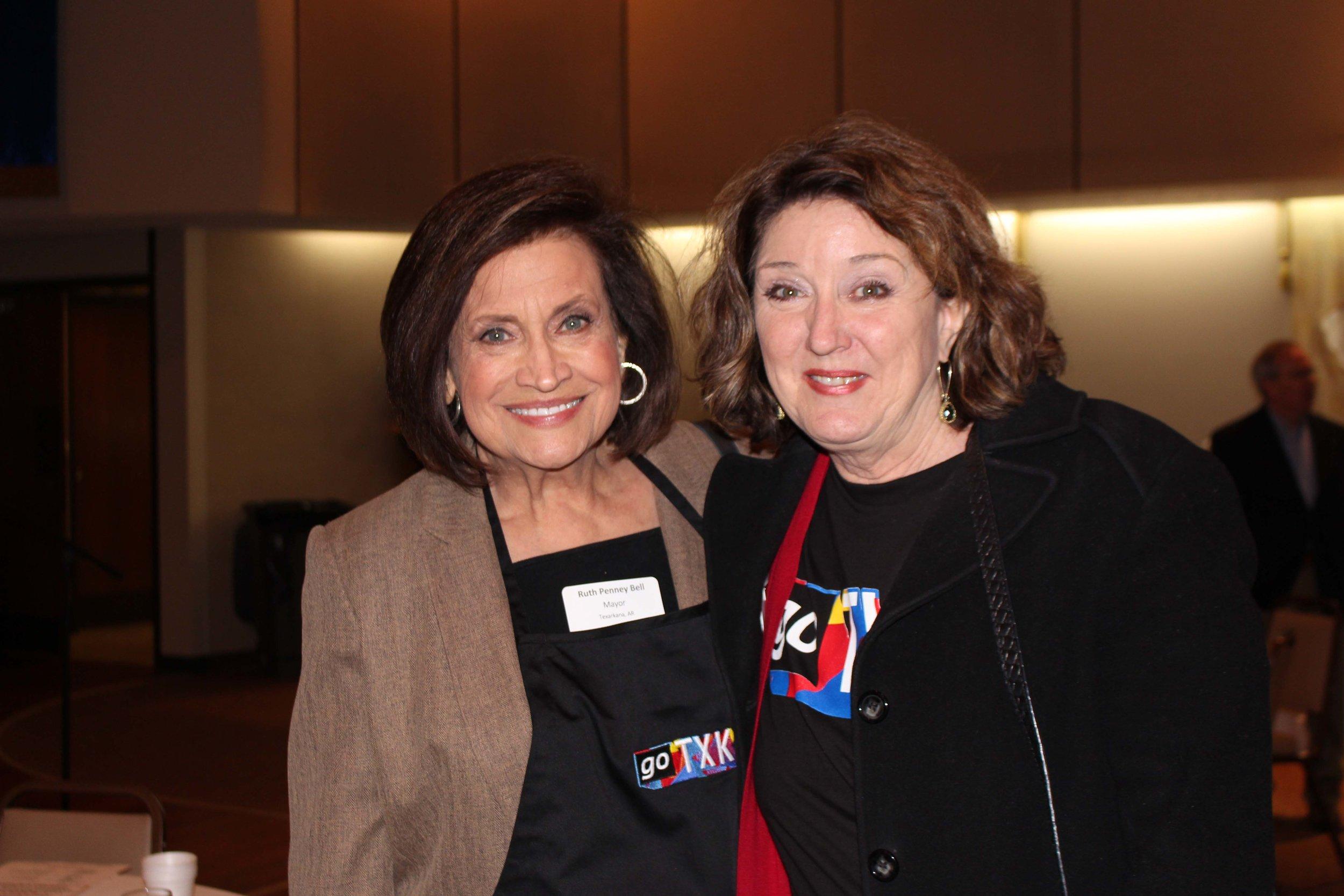 Ruth Penney Bell and Ruth Ellen Whitt