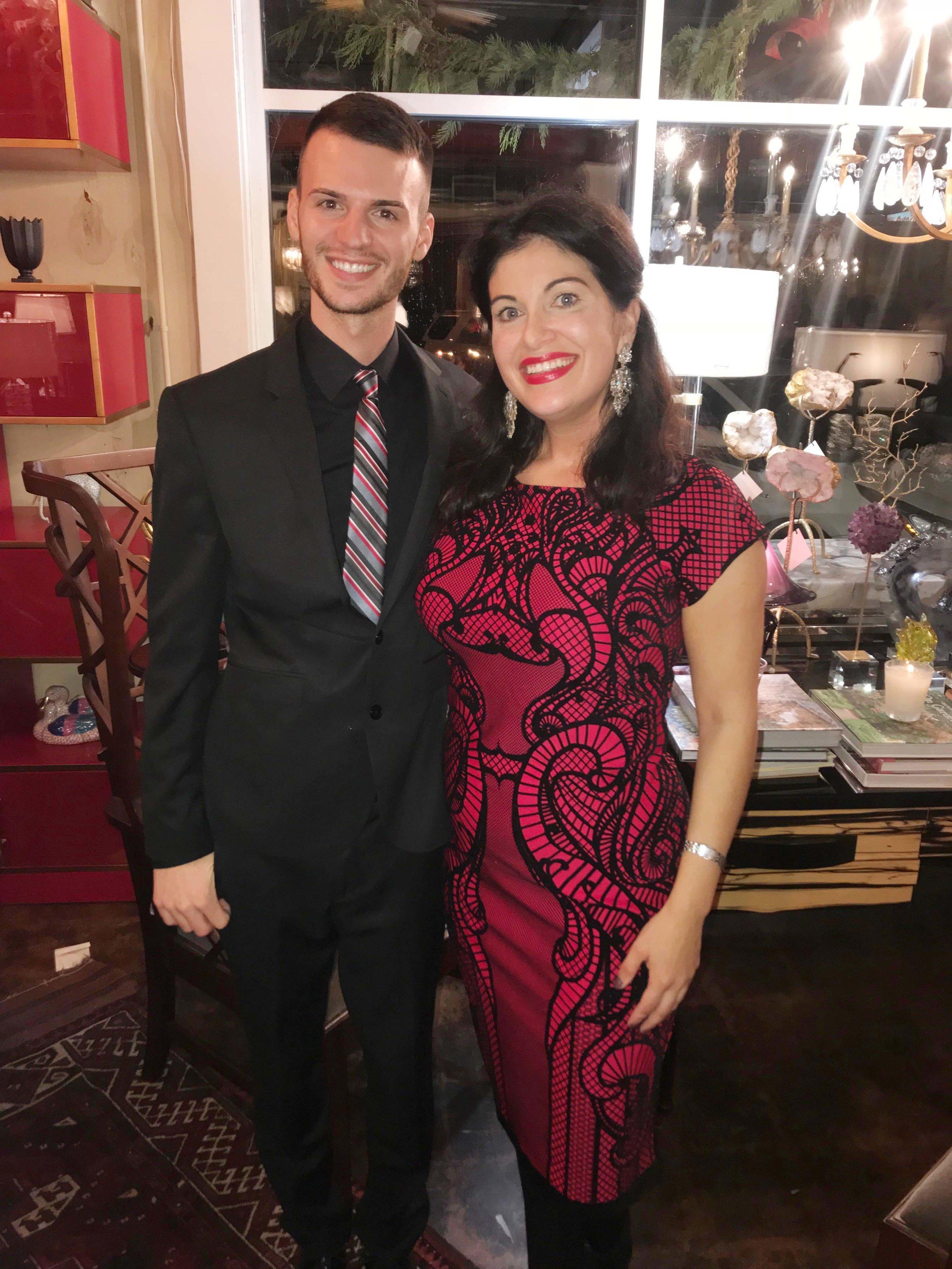 Caleb Scott and Erica Cain