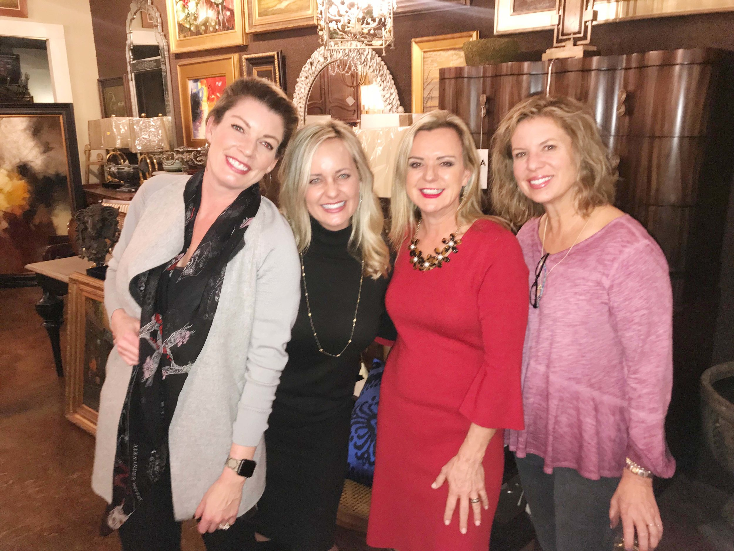 Aria Potter, Amberly Stussy, Mary Beth Womack and Deidre Smith