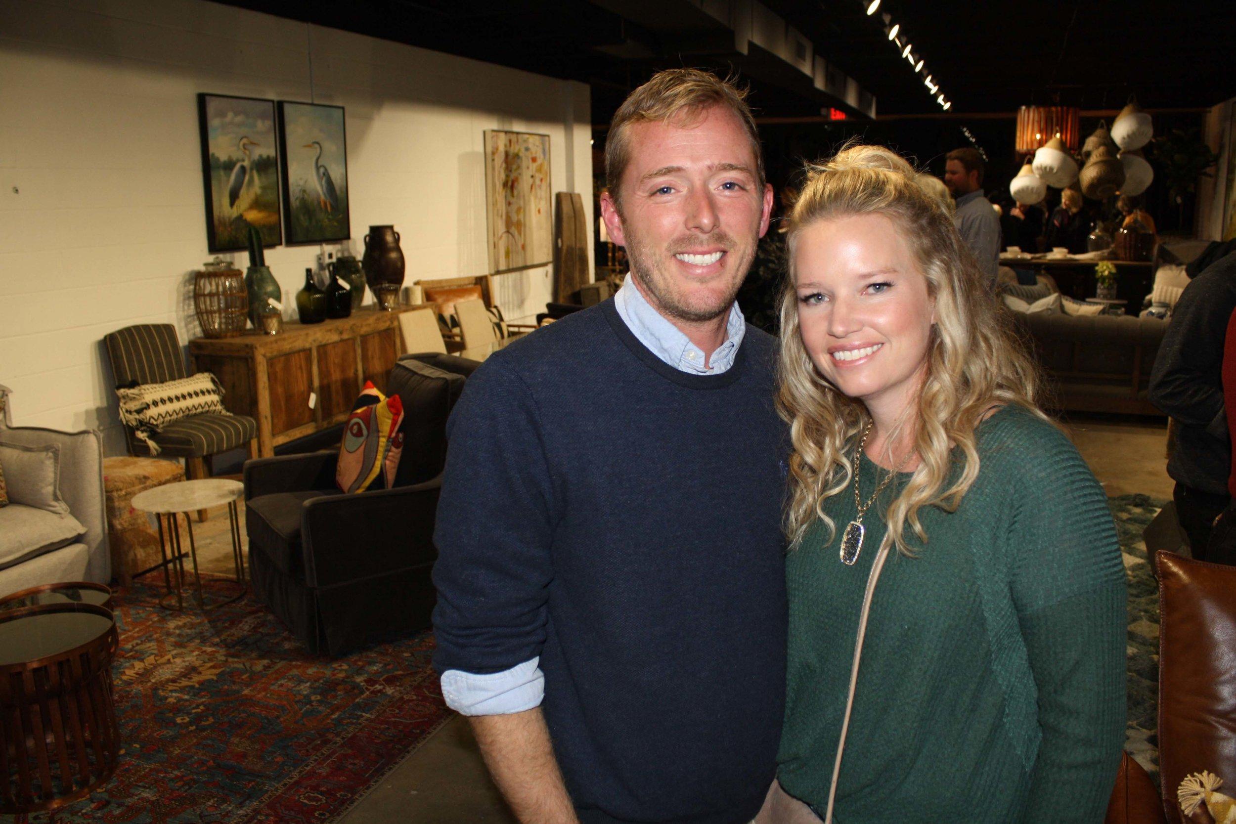 Bryan Callaway and Jill Flanagan