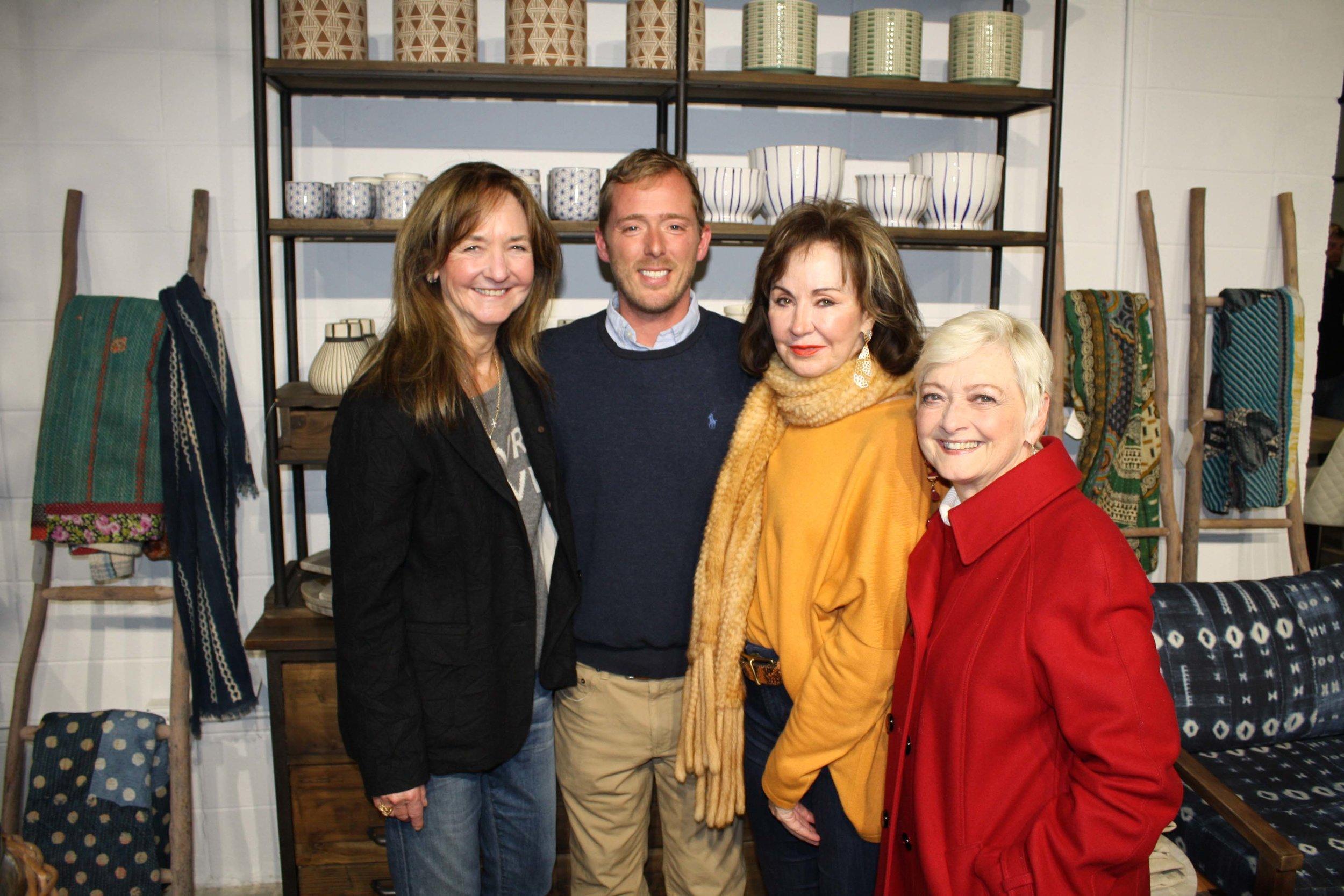 Jane Bruner, Bryan Callaway, Judy Morgan and Bennie Phillips