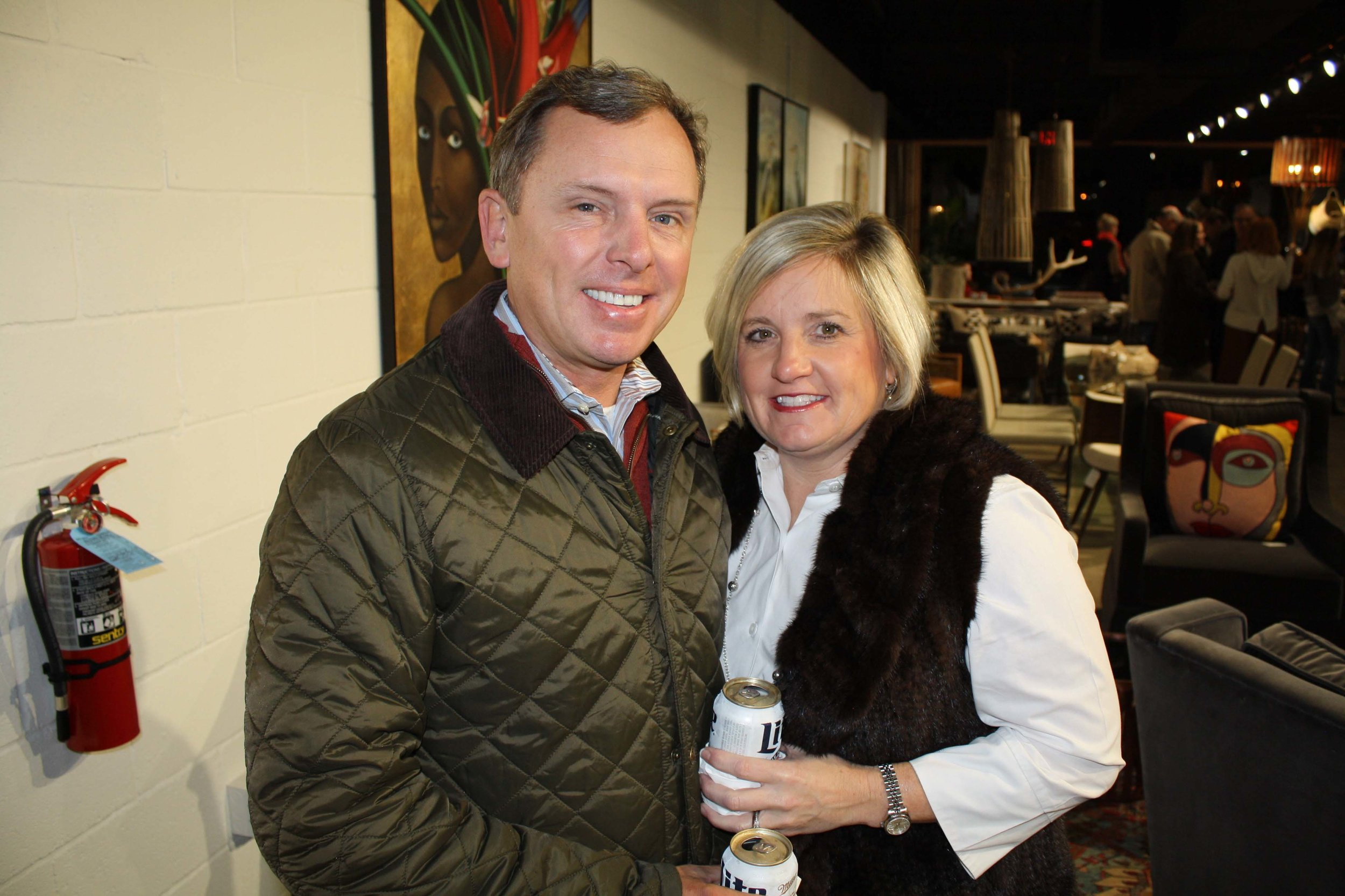 Dr. Andy and Caroline Curry