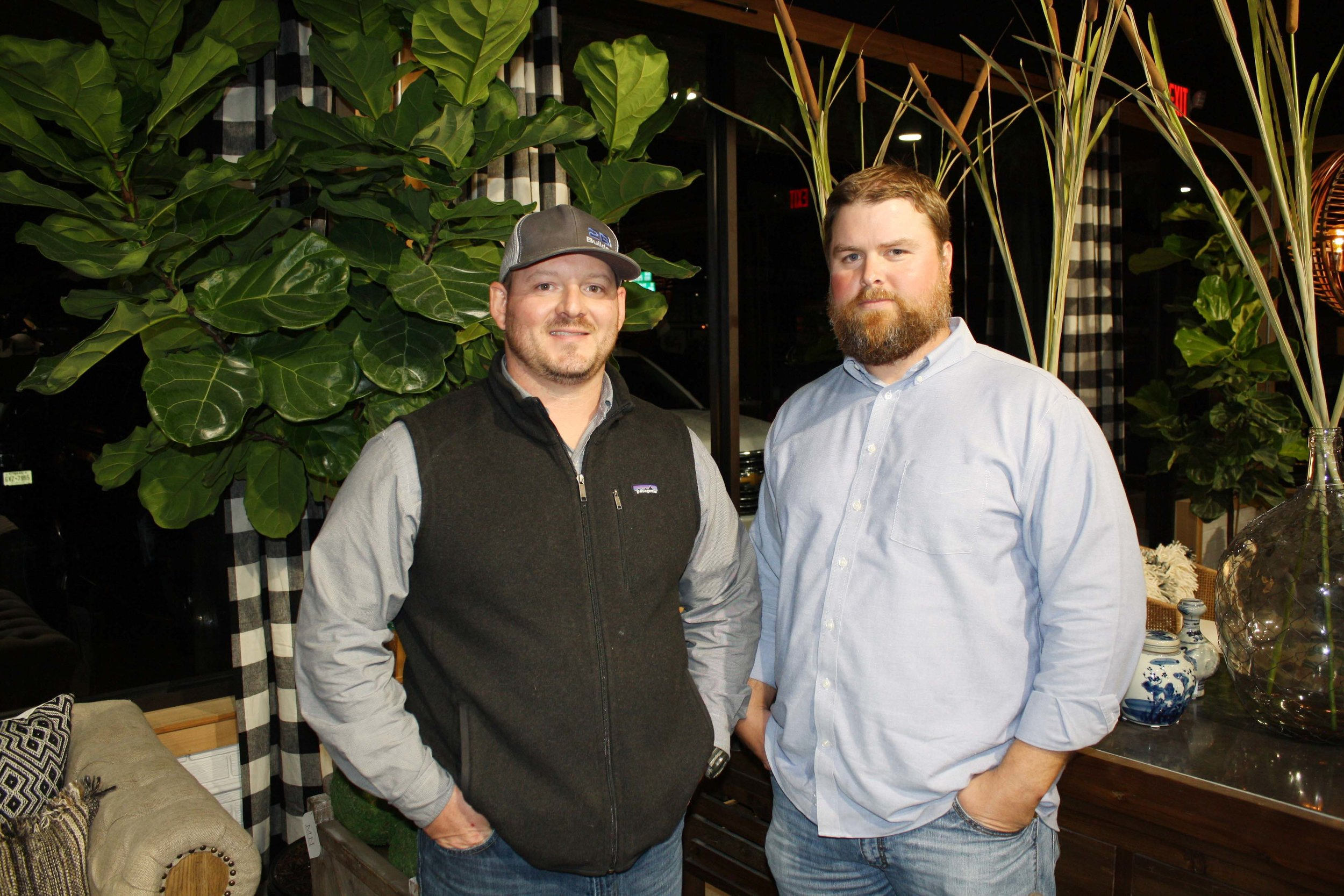 Brandon Taylor and Brad Meador