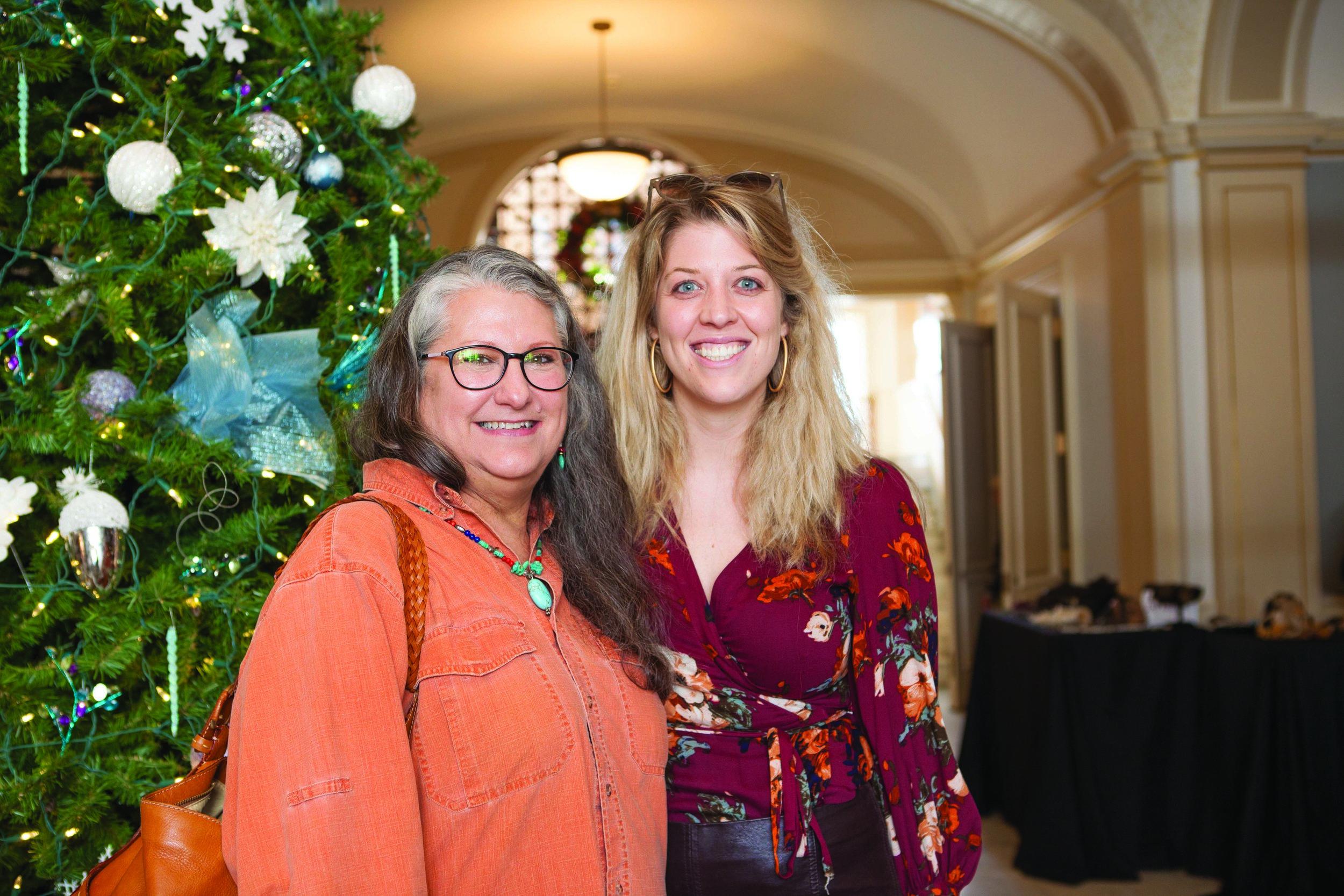 Cathy Roeser and Haley Herrington