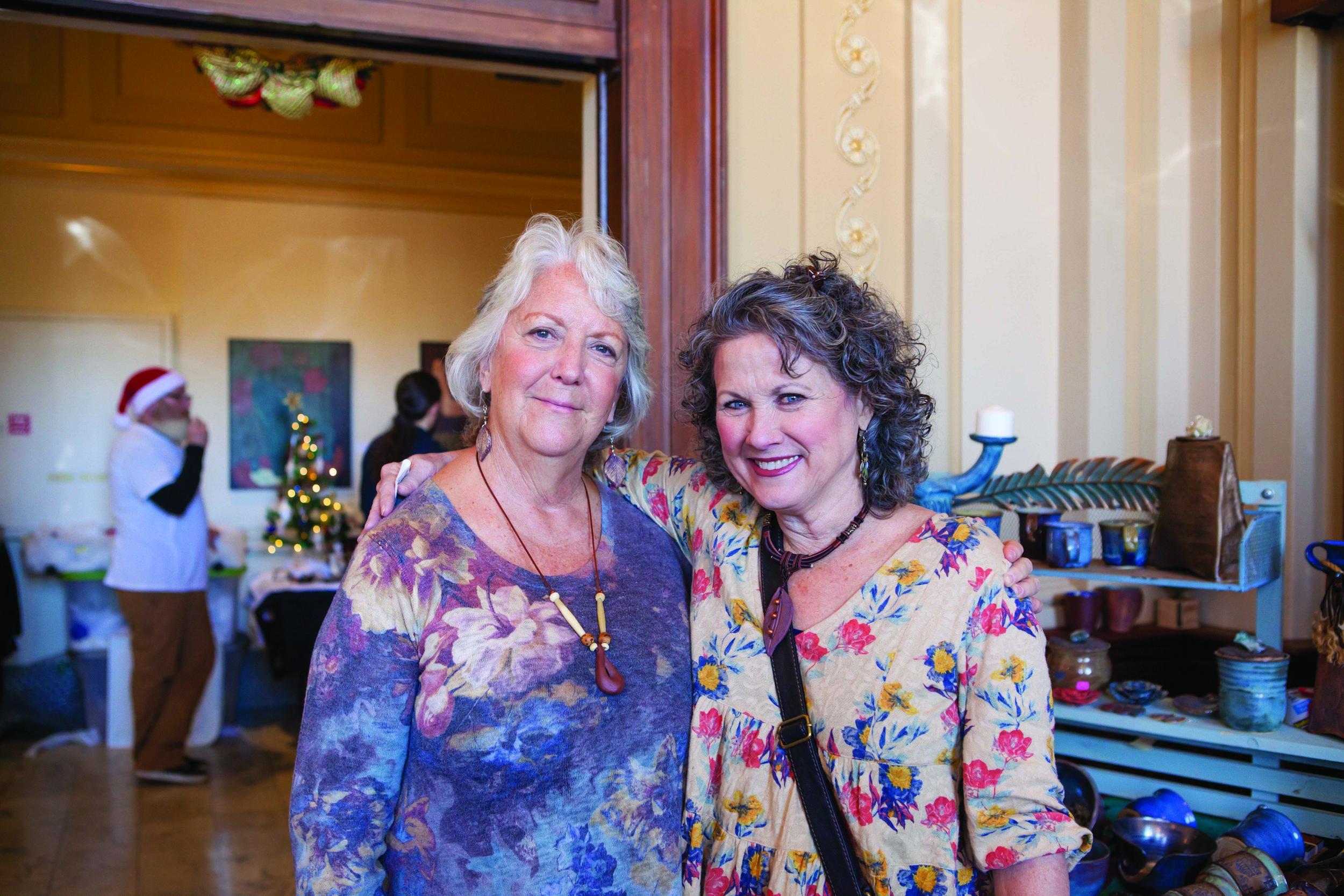 Joyce Parry and Judy Jones
