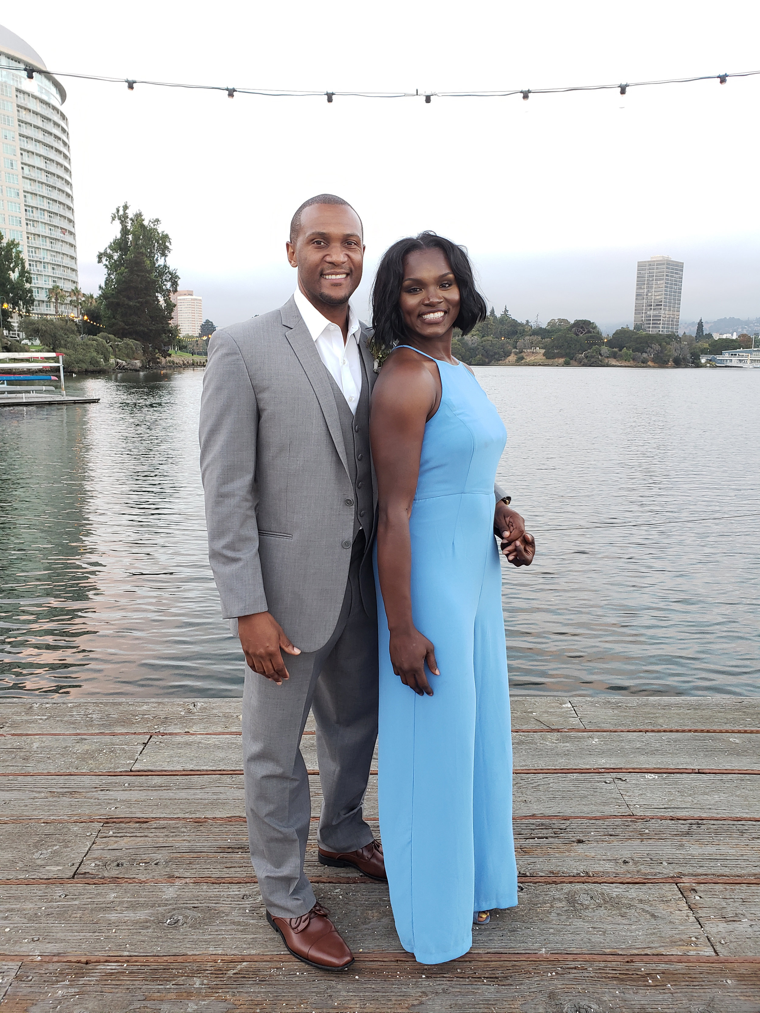 Although they live very busy lives with their three boys, Cedrick and Marie enjoyed a vacation trip to Oakland, California, to attend a friend's wedding this past August.