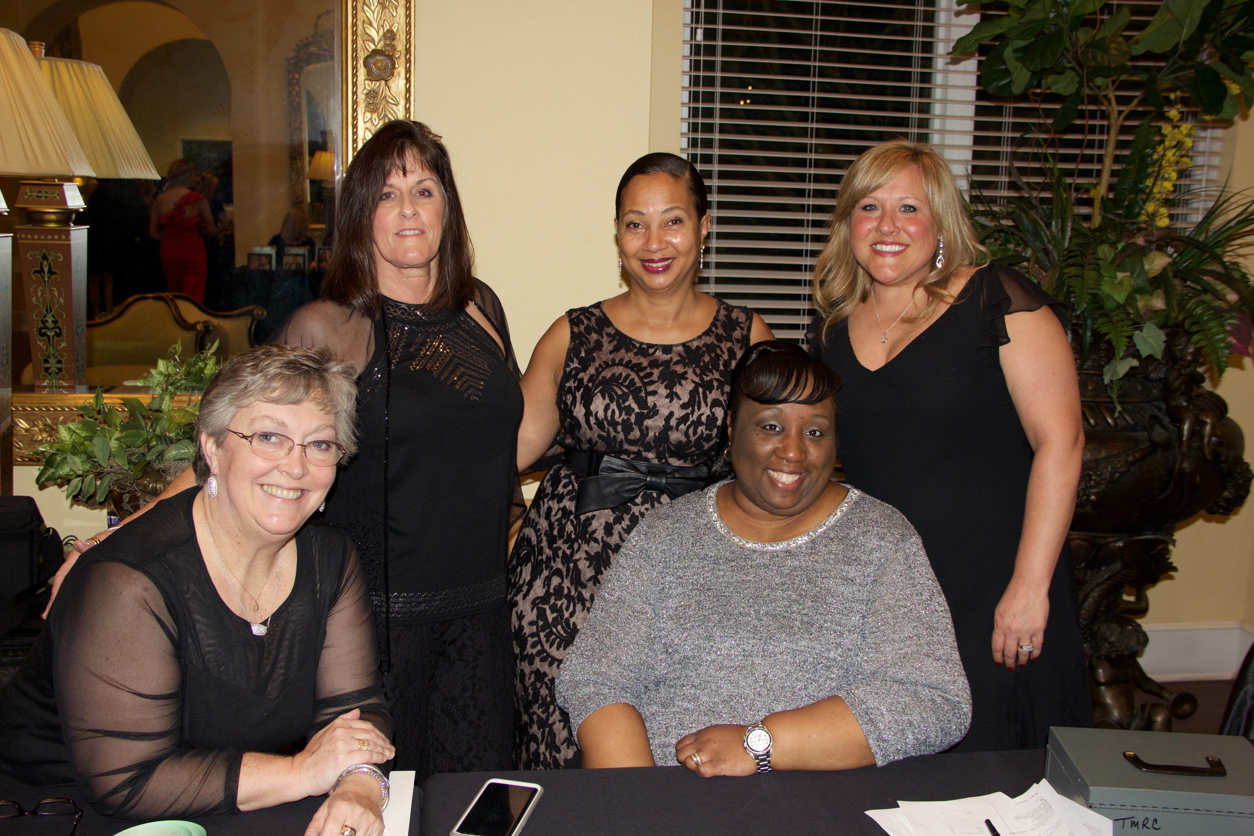 inne Walker, Brenda Reid, Lisa Dupree and Amber Hall