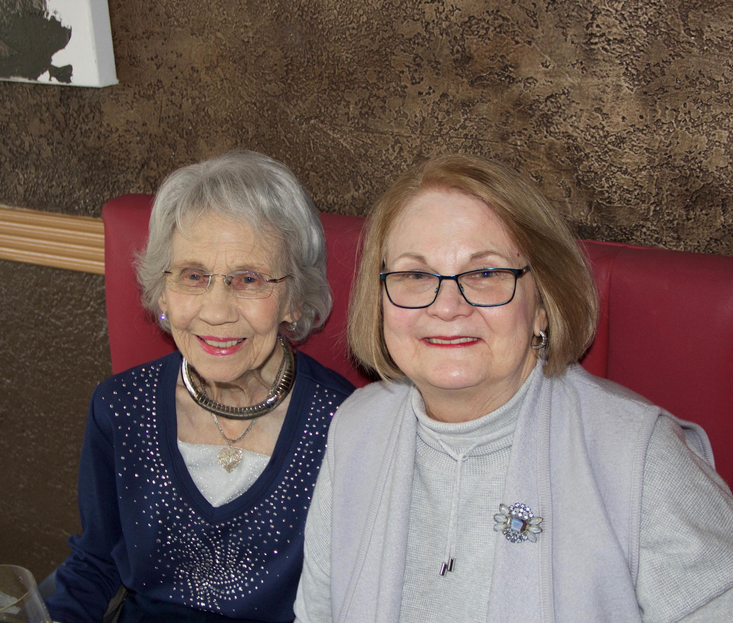 Lynne Vammen and Carol Ann Sanderson