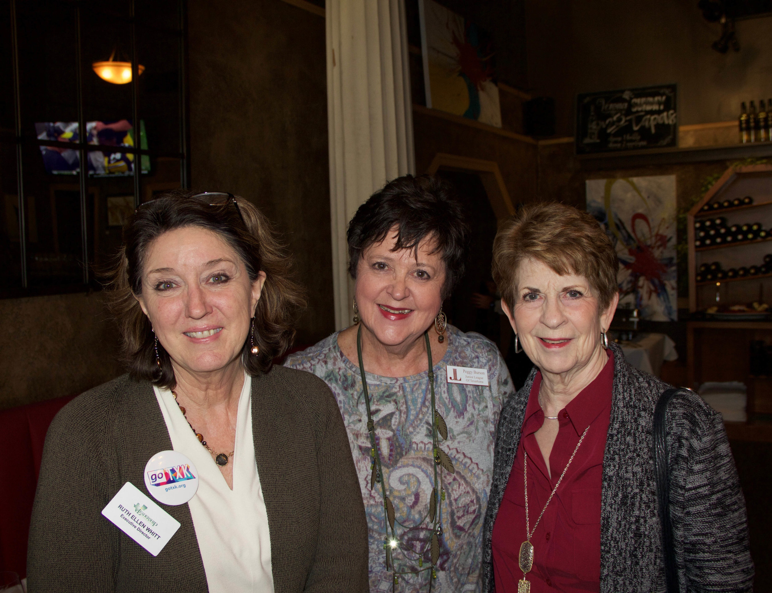 Ruth Ellen Whitt, Peggy Burson and Suzy Heath