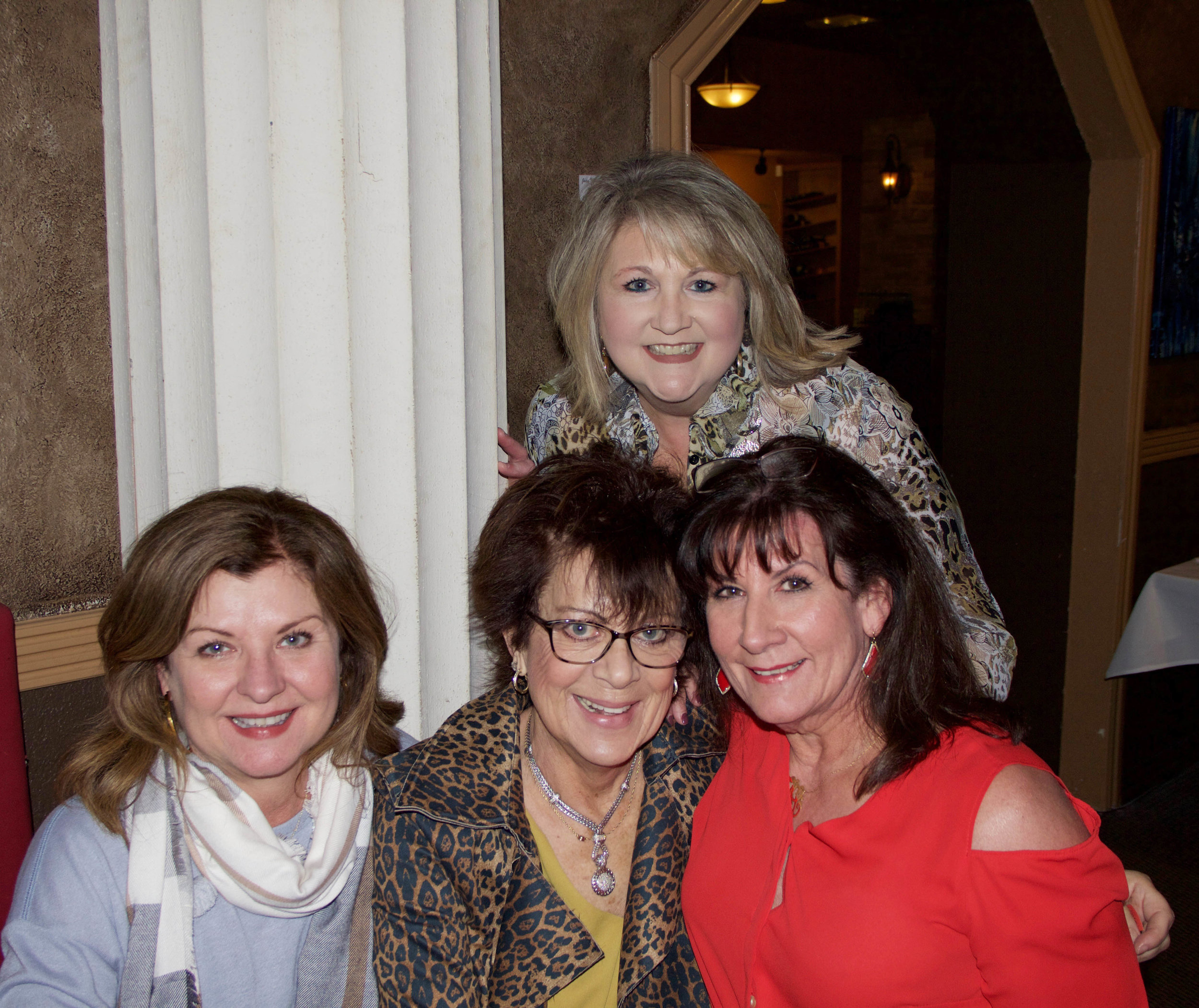 Robin Hickerson, Mel Walsh, LeAnne Wright and Sandy Varner
