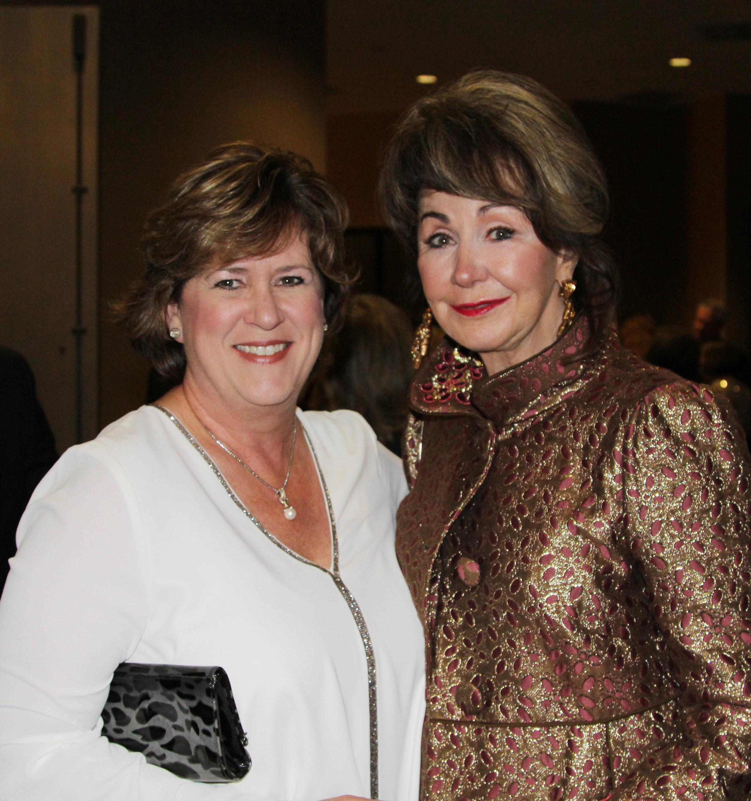 Trish Reed and Judy Morgan