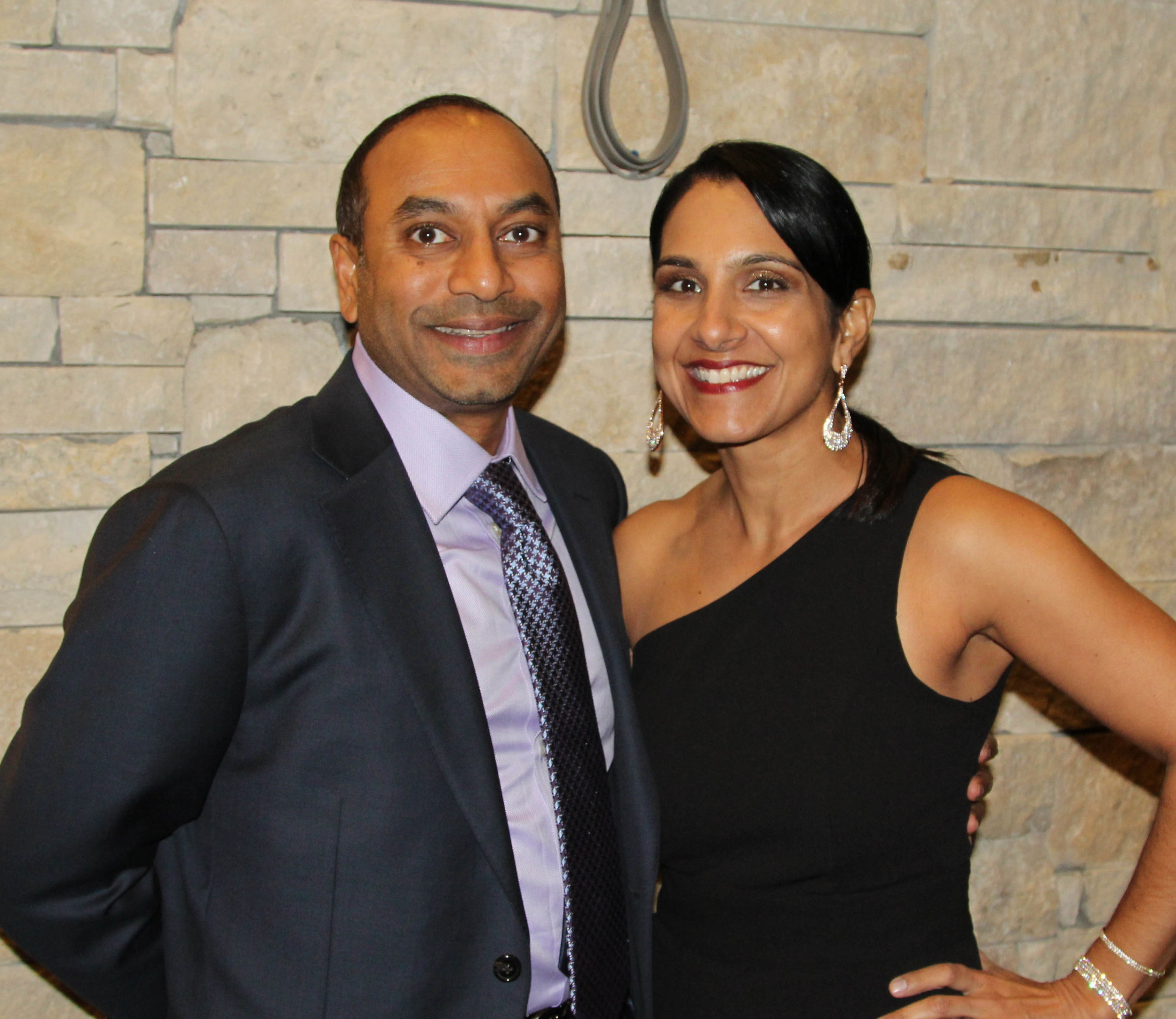 Dr. Kiran and Anitha Kurichety