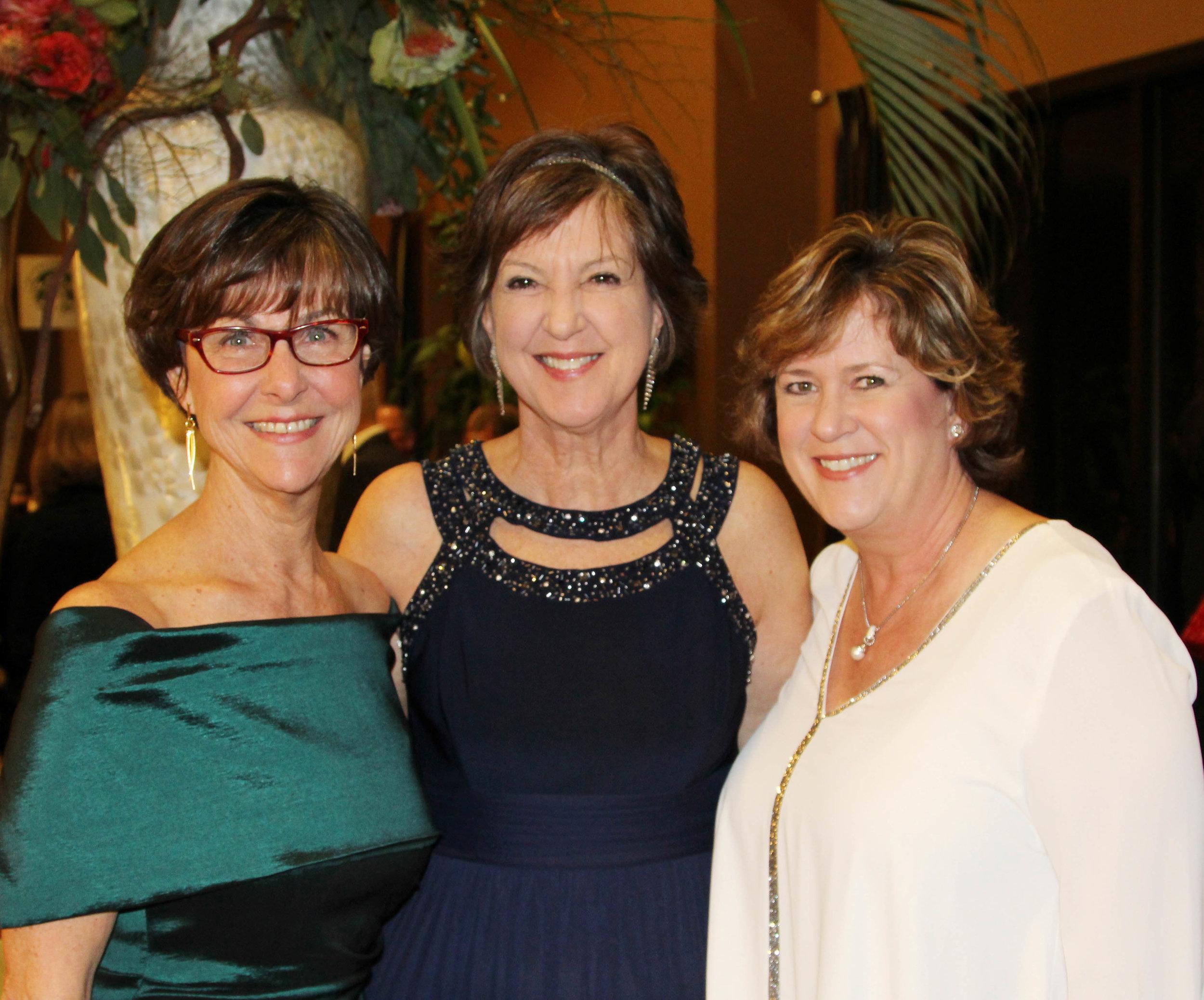 Debbie Alkire, Gail Eichler and Trish Reed