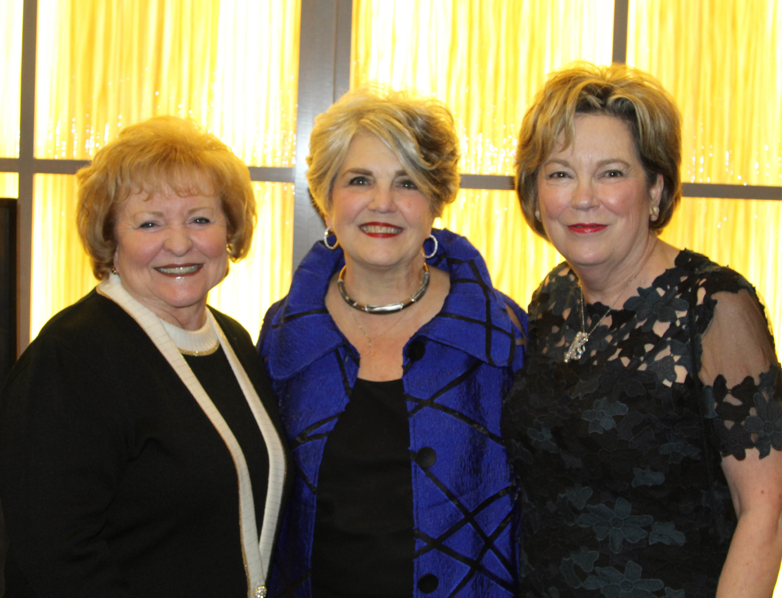 Joan Carter, Susan Landreaux and Dr. Emily Cutrer