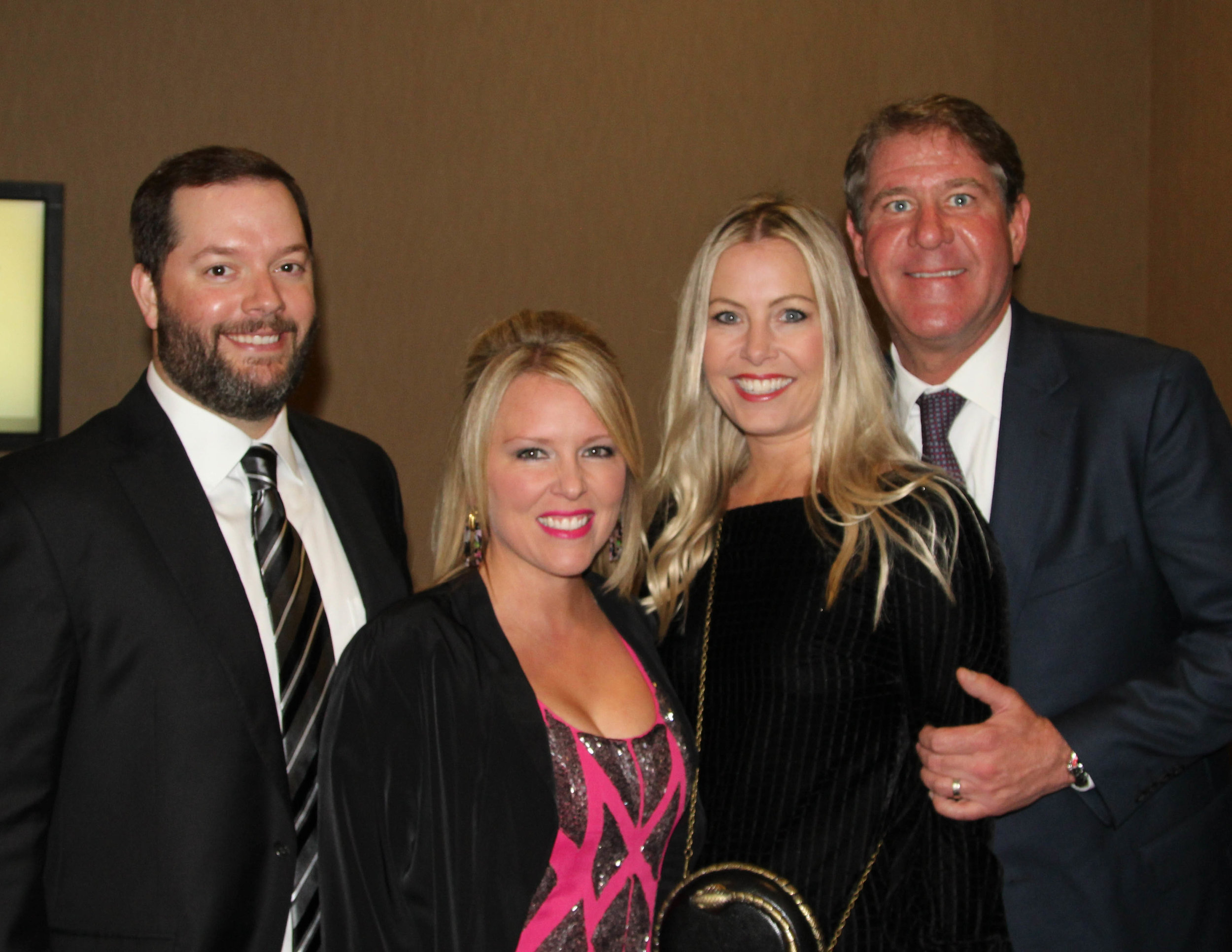 Dr. Chad and Danielle Patterson with Whitney and Vickers Fuqua