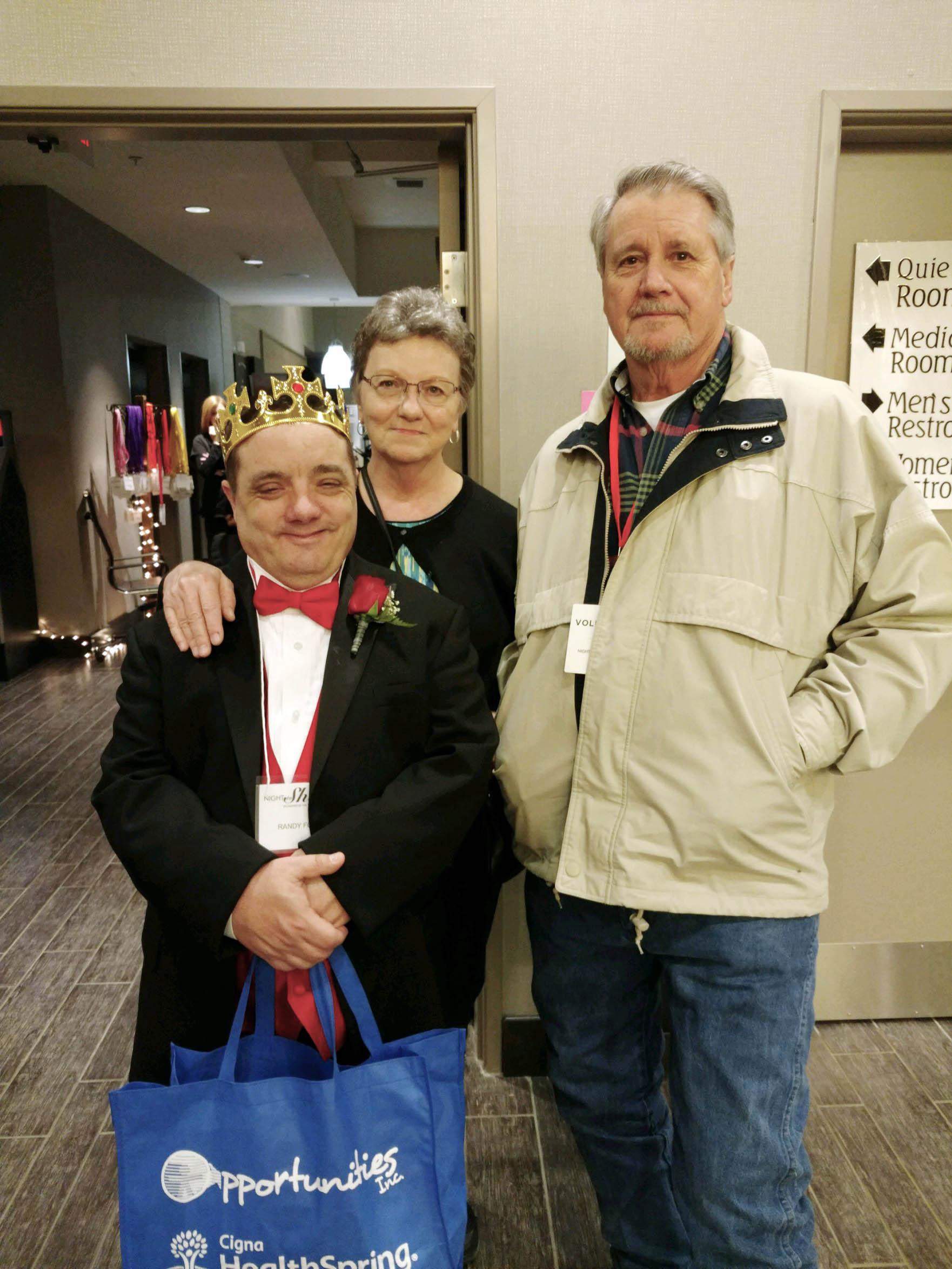 Randy, Linda and Joe Ford