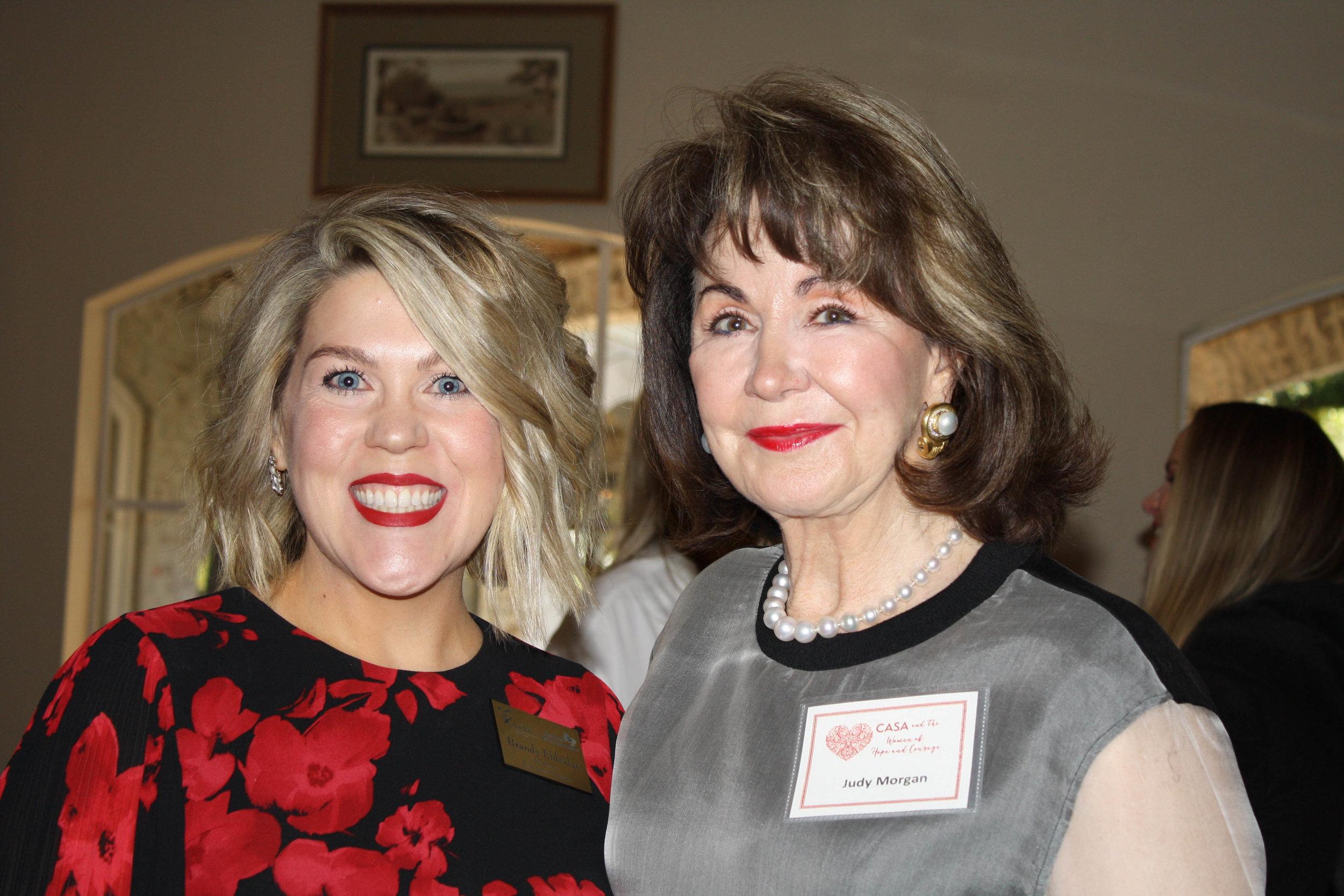Brandy Eldridge and Judy Morgan