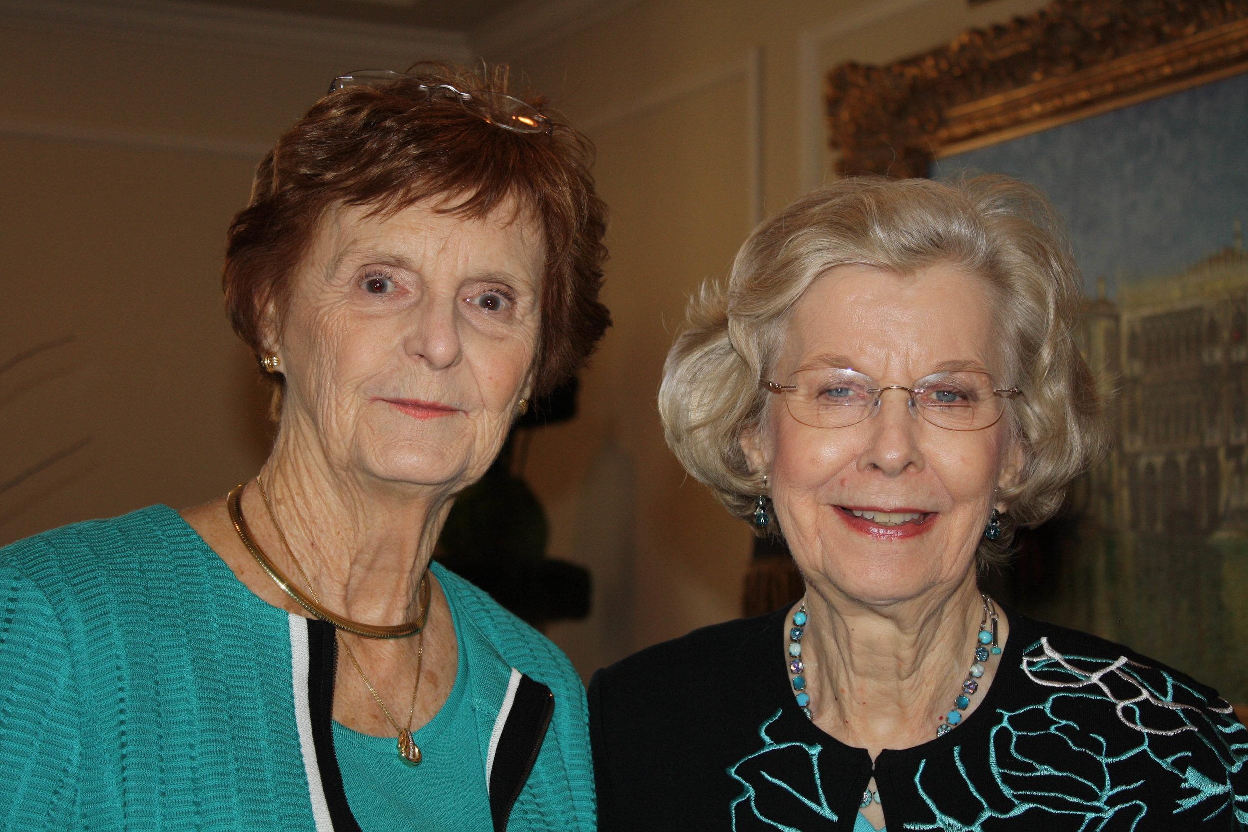Linda Lira and Helen Floyd