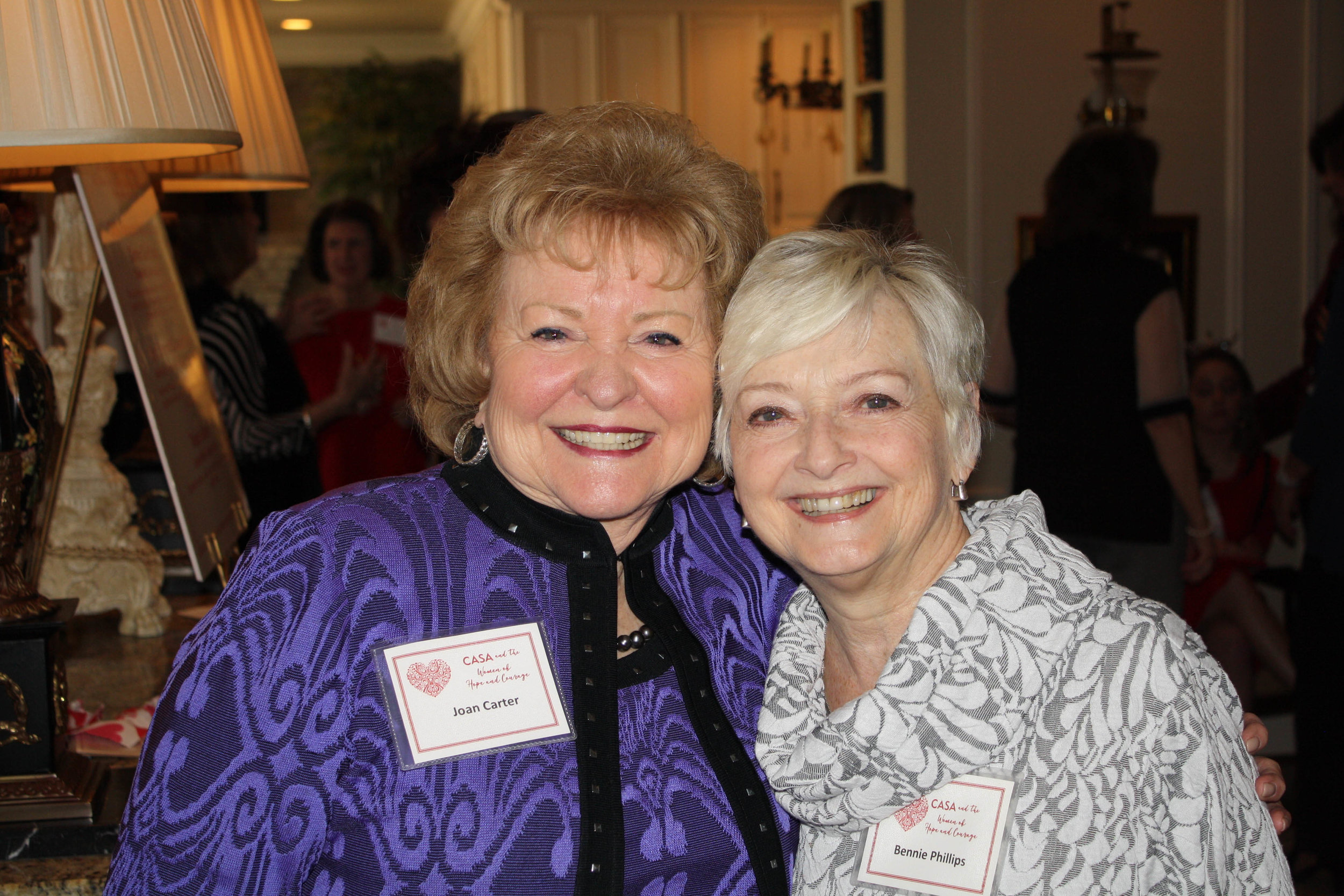 Joan Carter and Bennie Phillips