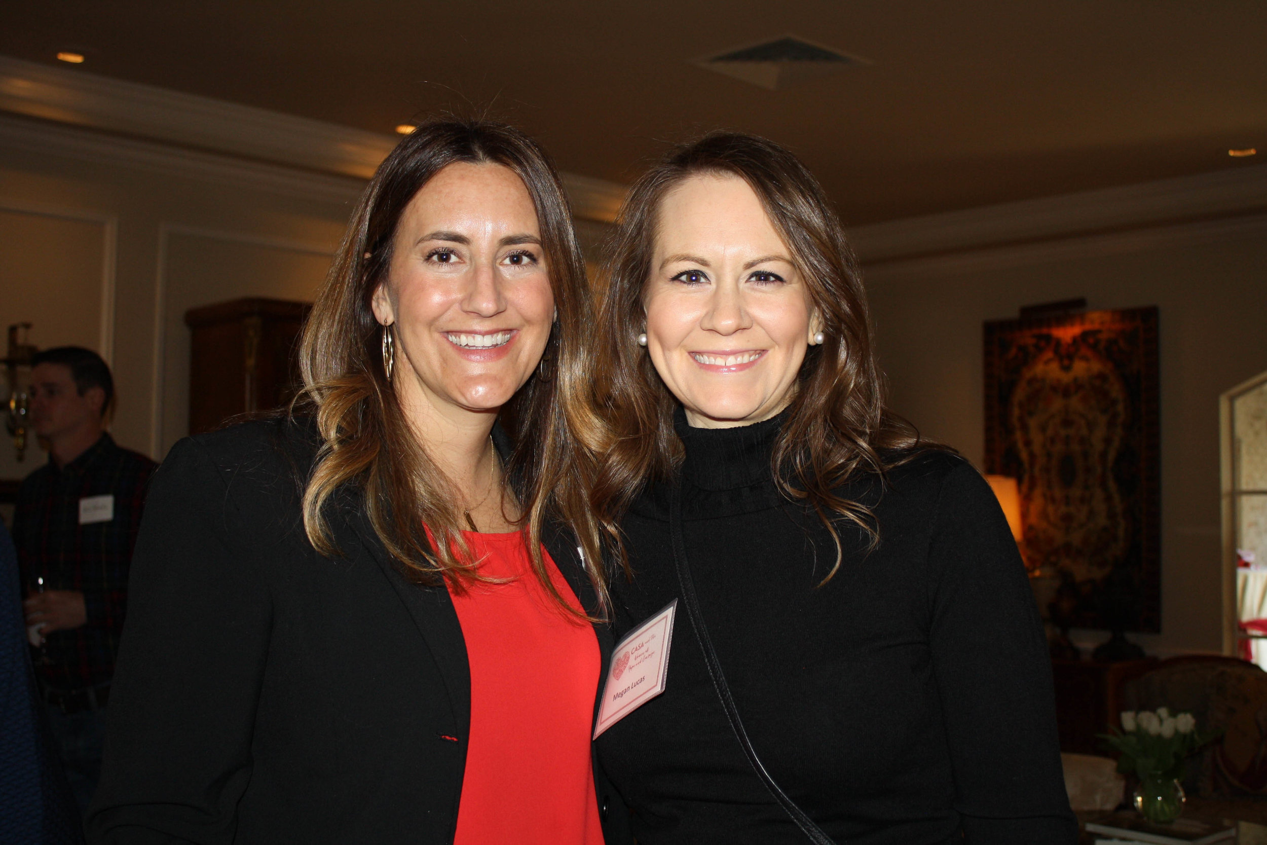 Jordan Miller and Megan Lucas