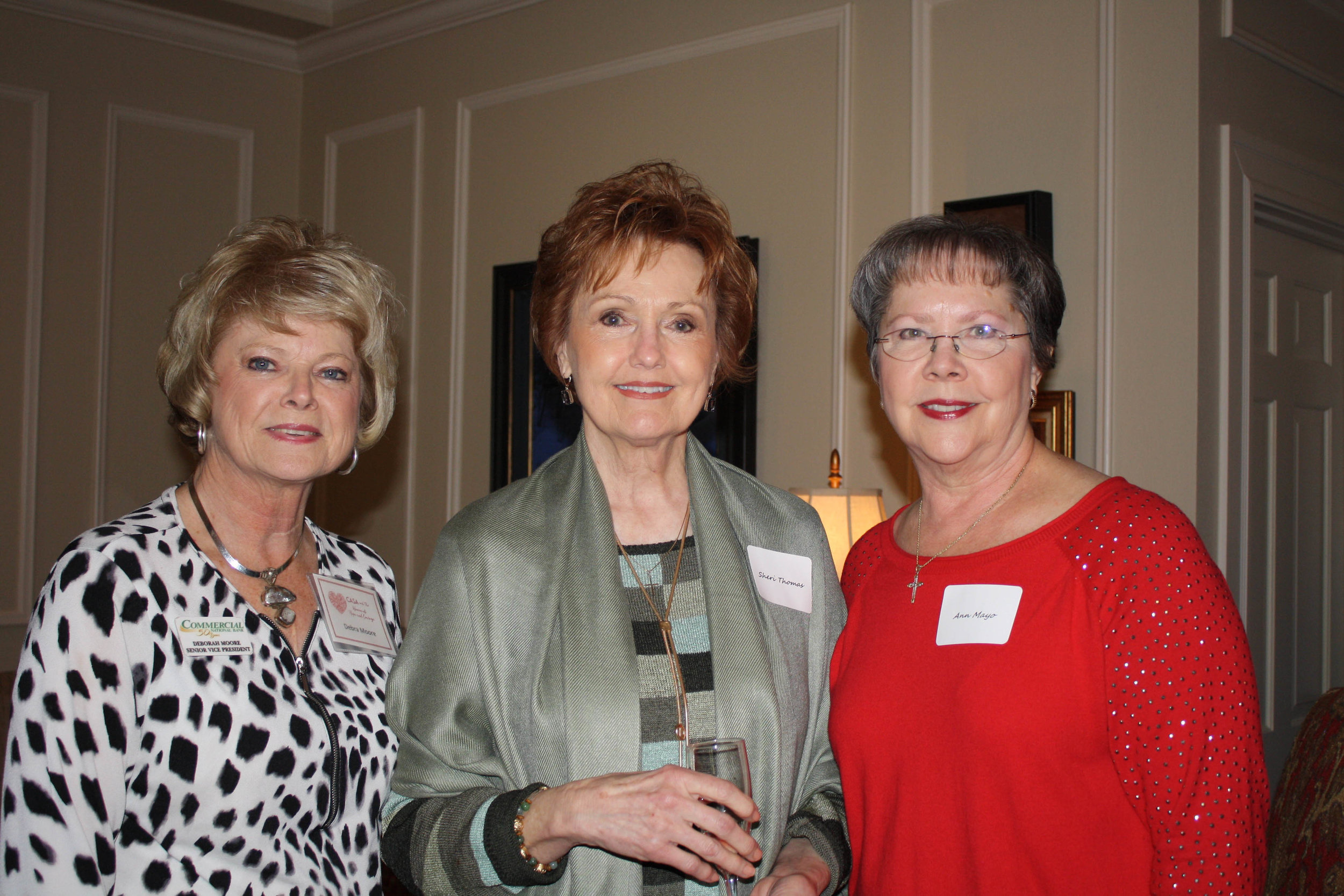 Debra Moore, Sheri Thomas and Ann Mayo