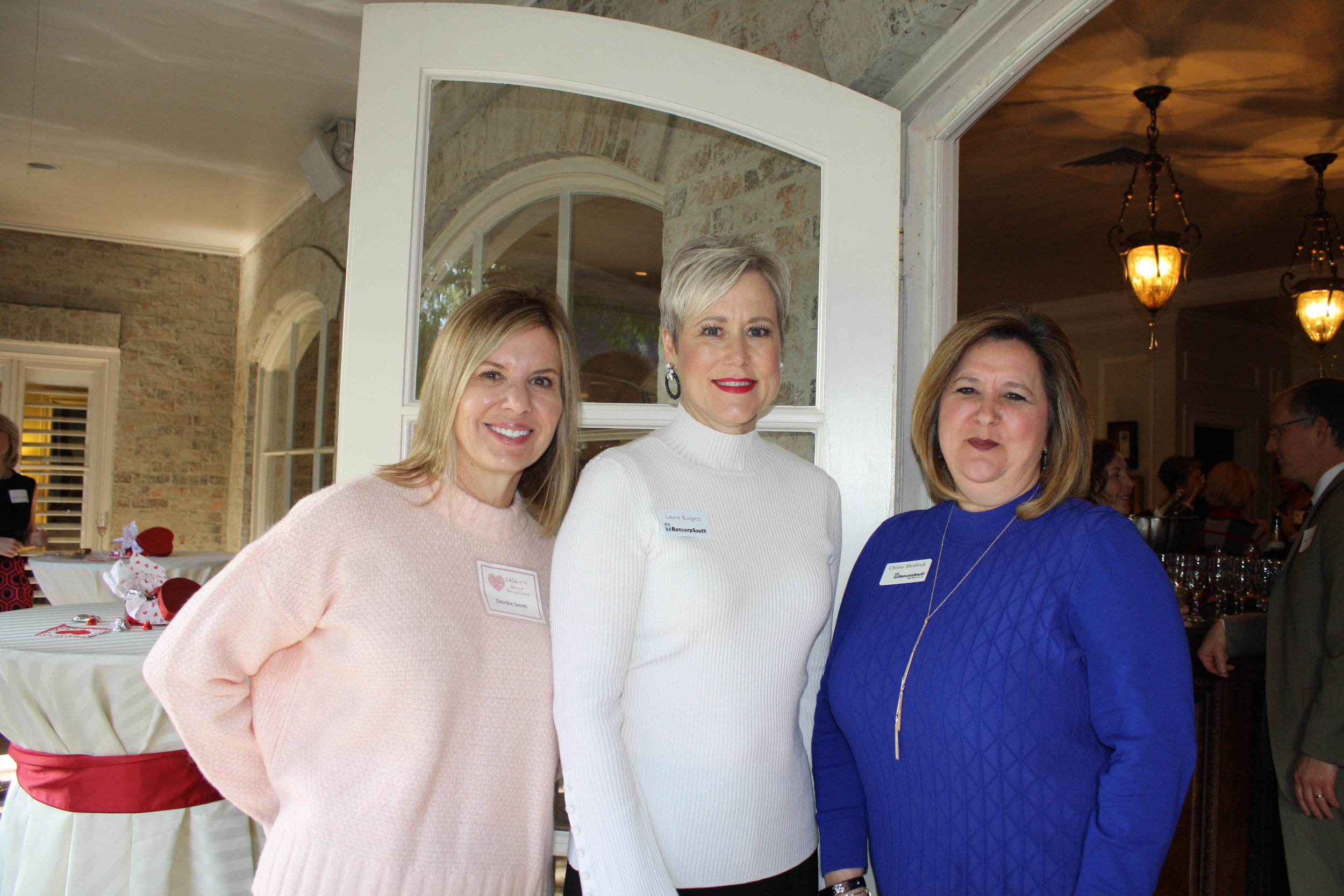 Deirdre Smith, Laurie Burgess and Christi Shedlock