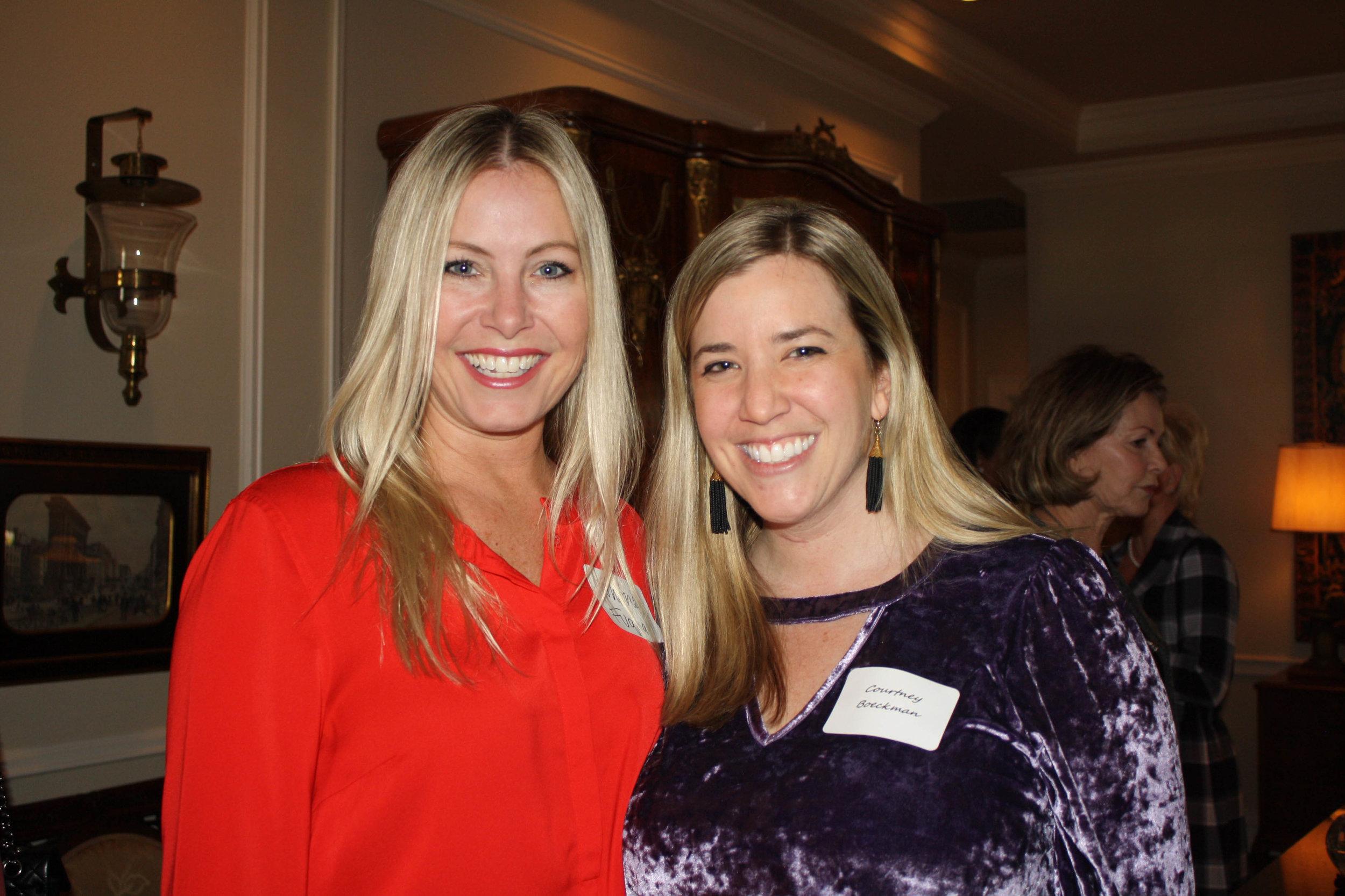 Whitney Fuqua and Courtney Boeckmann
