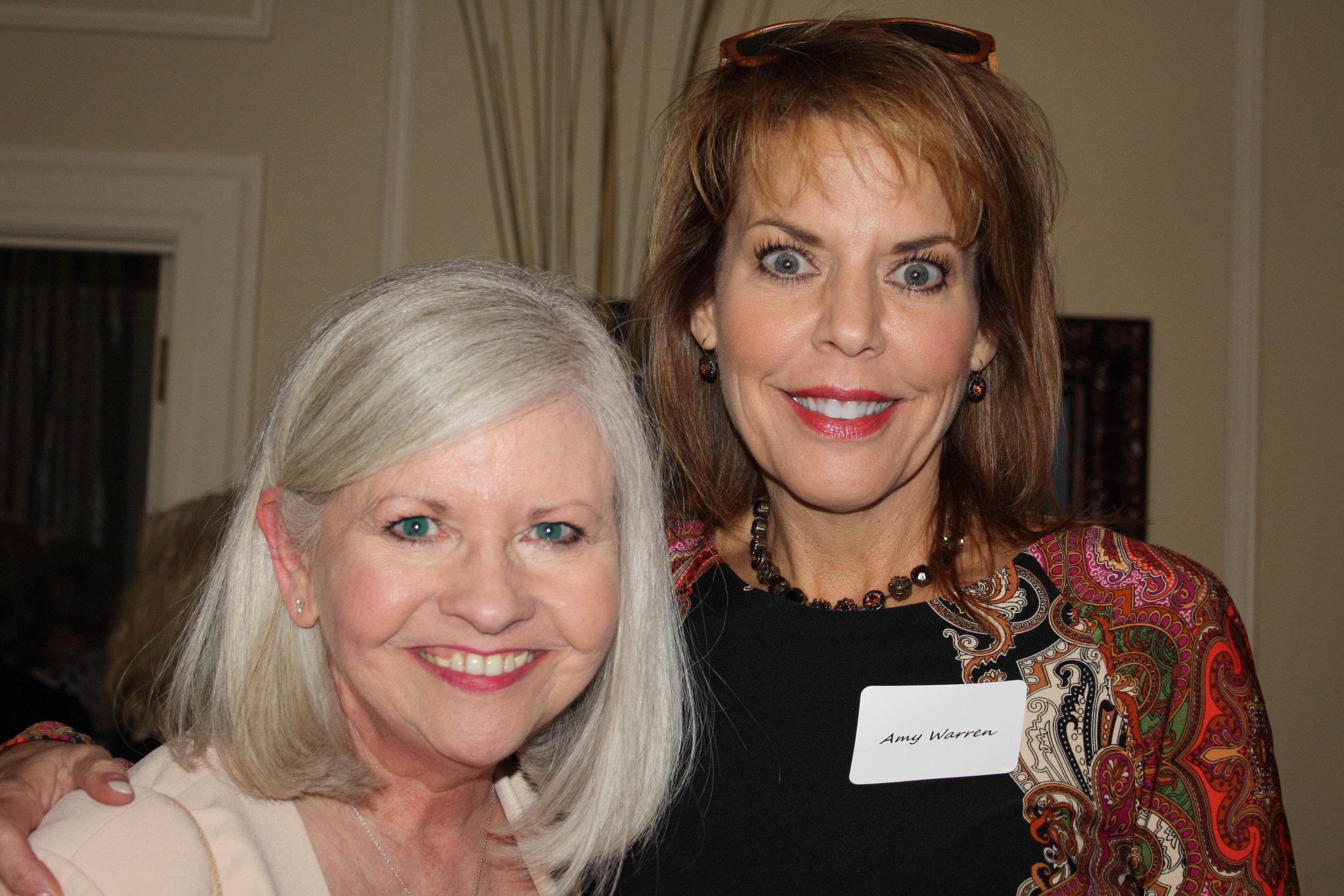 Judge Sherry Jackson Hawkins and Amy Warren
