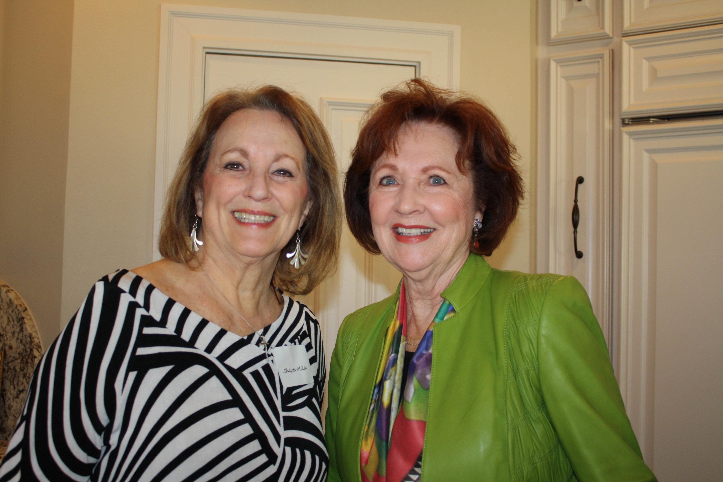 Chayta Mills and FaEllen Yates