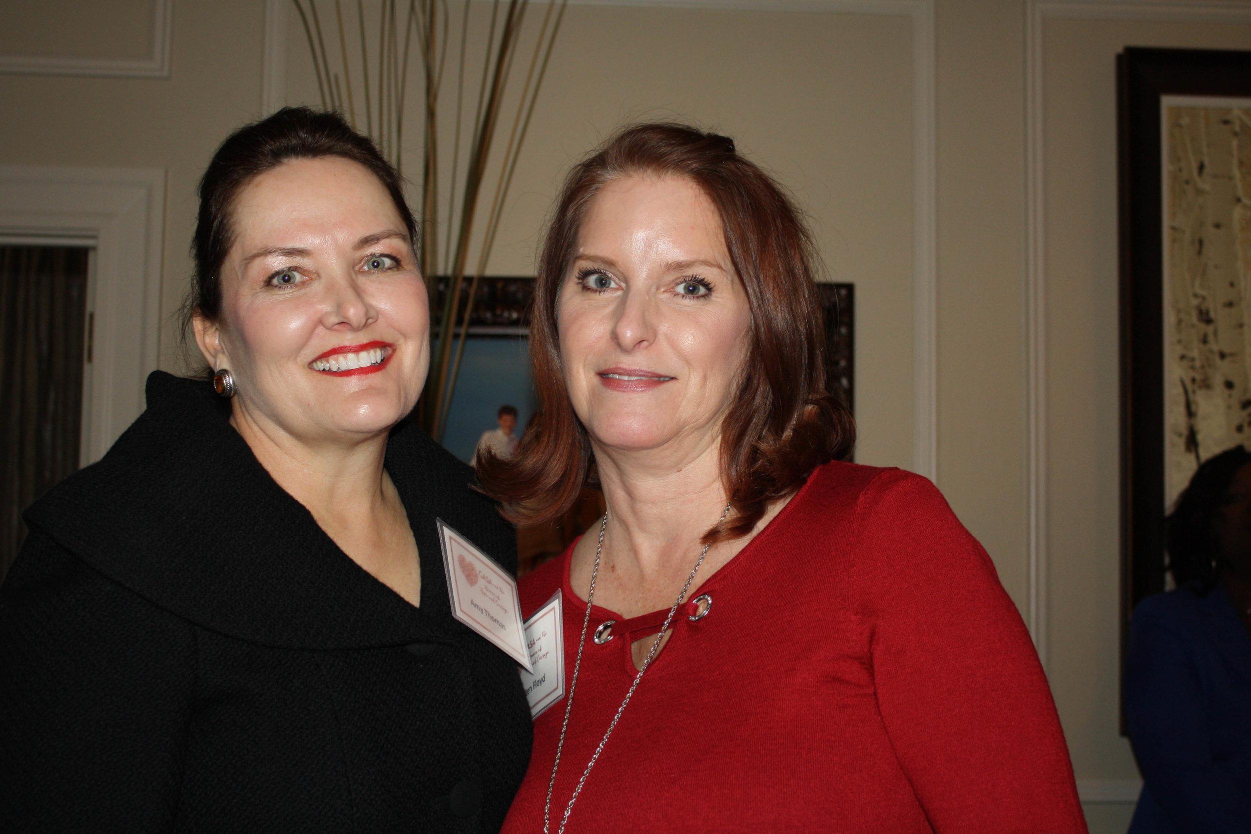 Amy Thomas and Kristen Floyd
