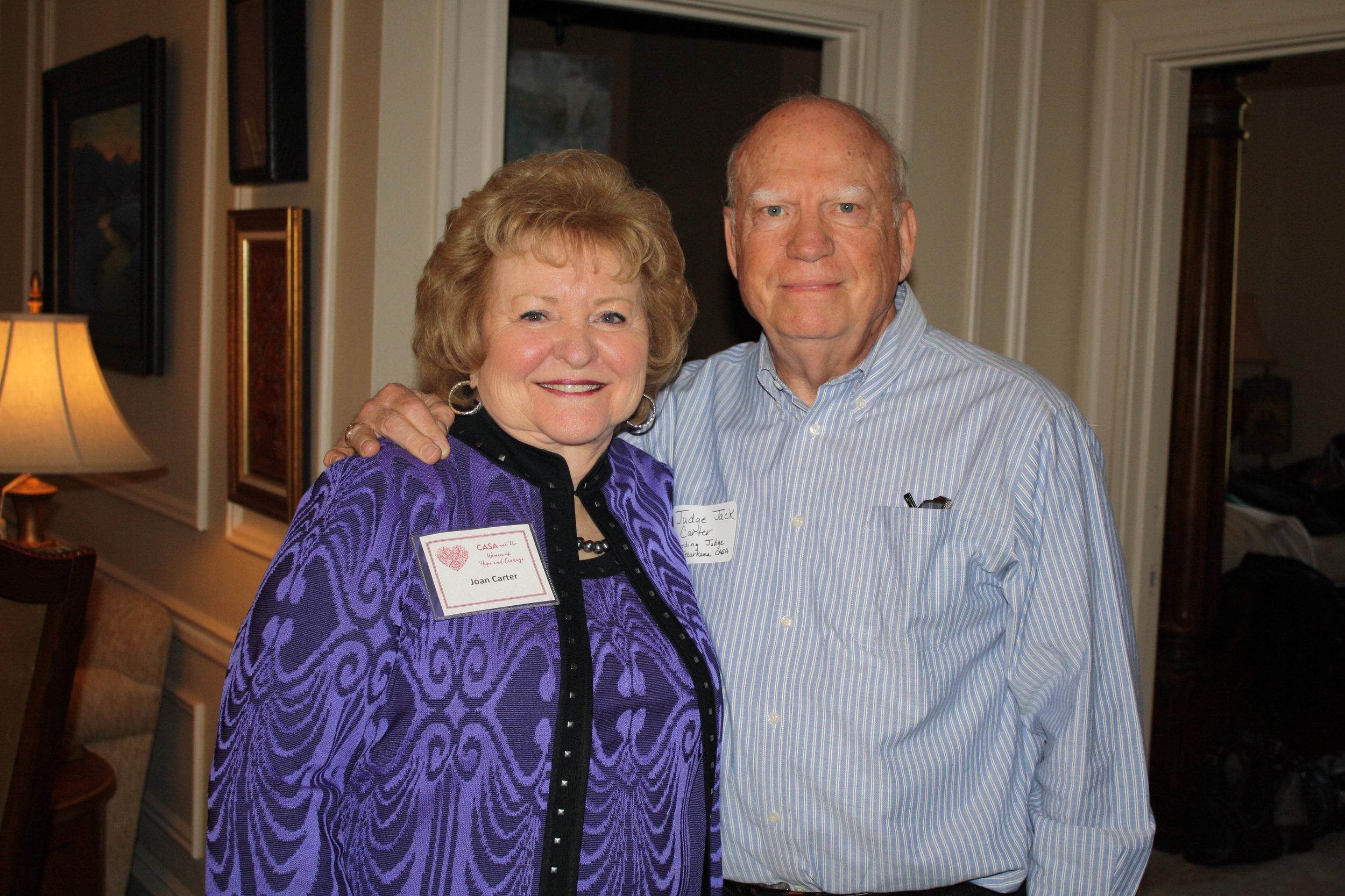 Joan and Judge Jack Carter