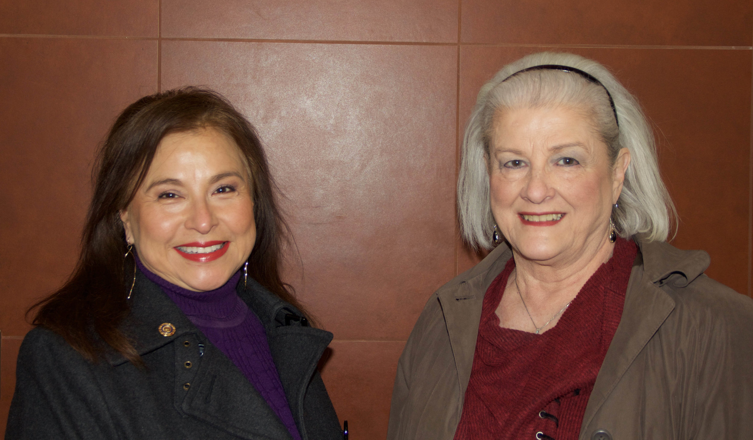 Mary Wormington and Amy Schulz