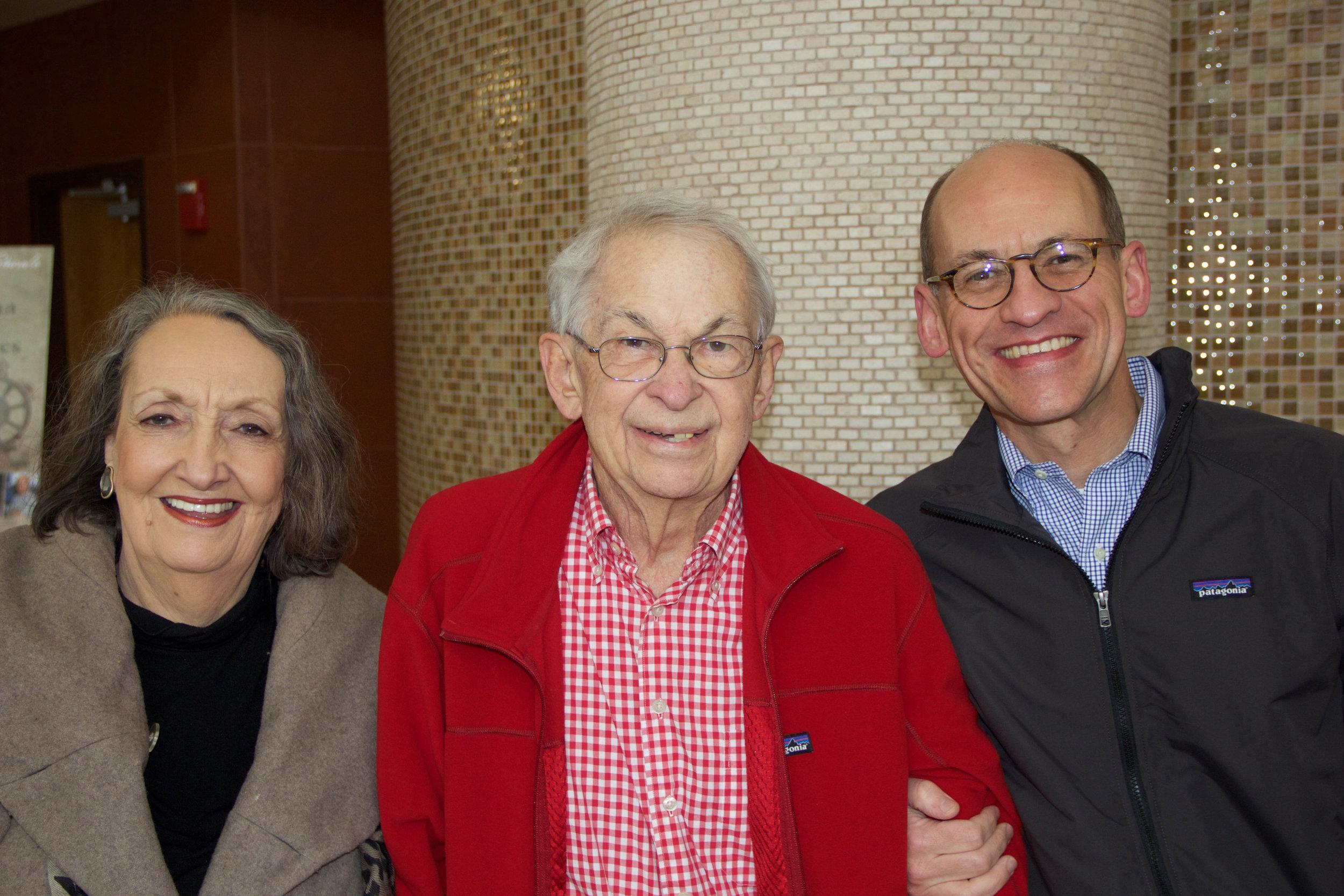 Mary, Bill and Trey Schroeder