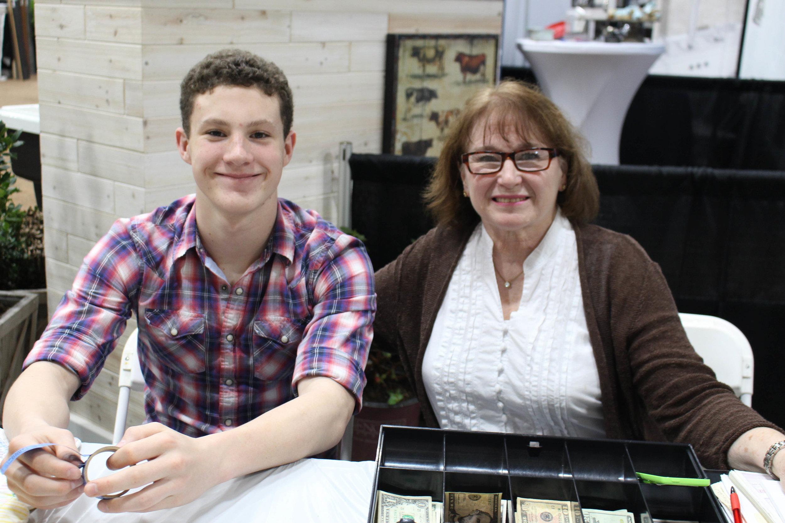 Jonah Bates and Linda Christian