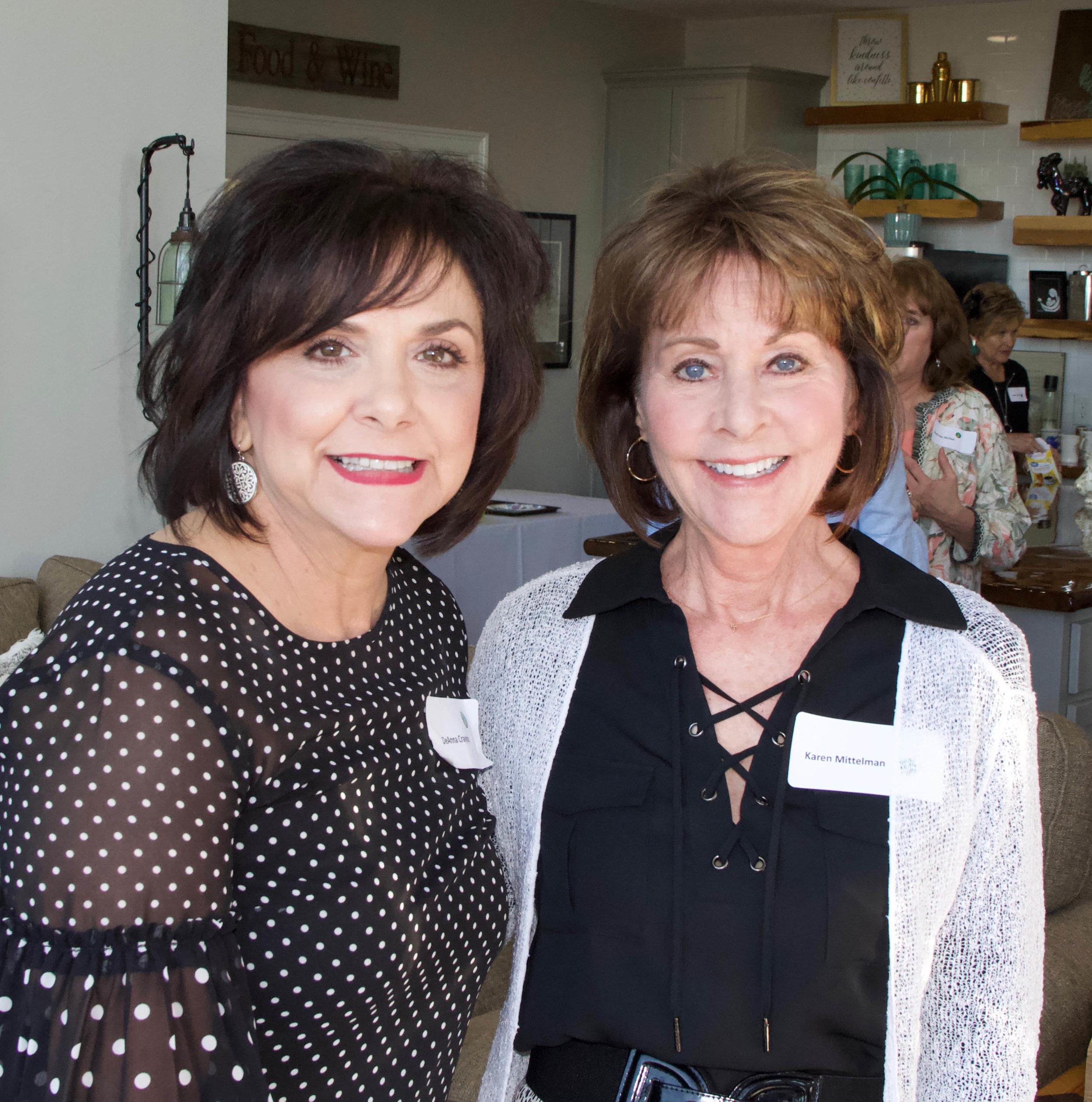 Deanna Craytor and Karen Mittelman