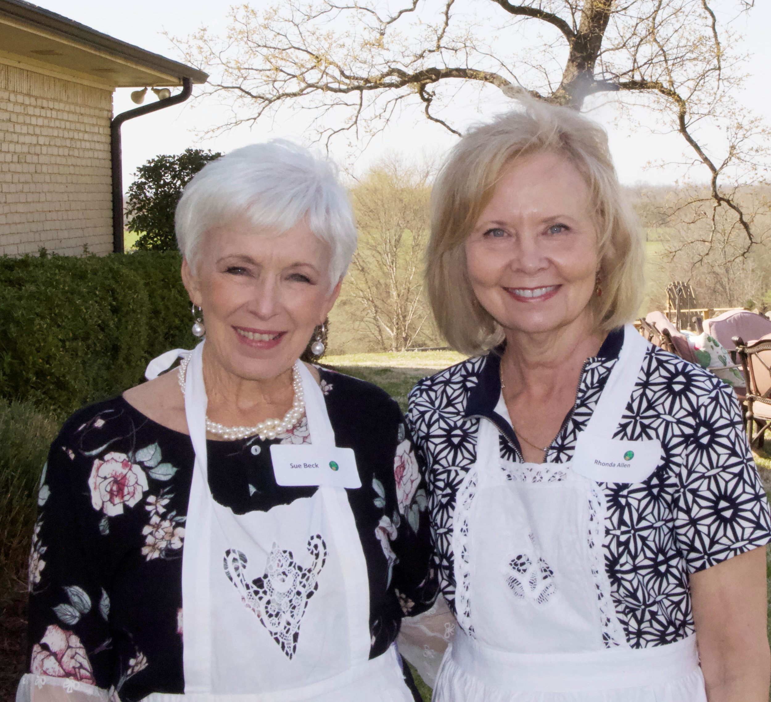 Sue Beck and Rhonda Allen