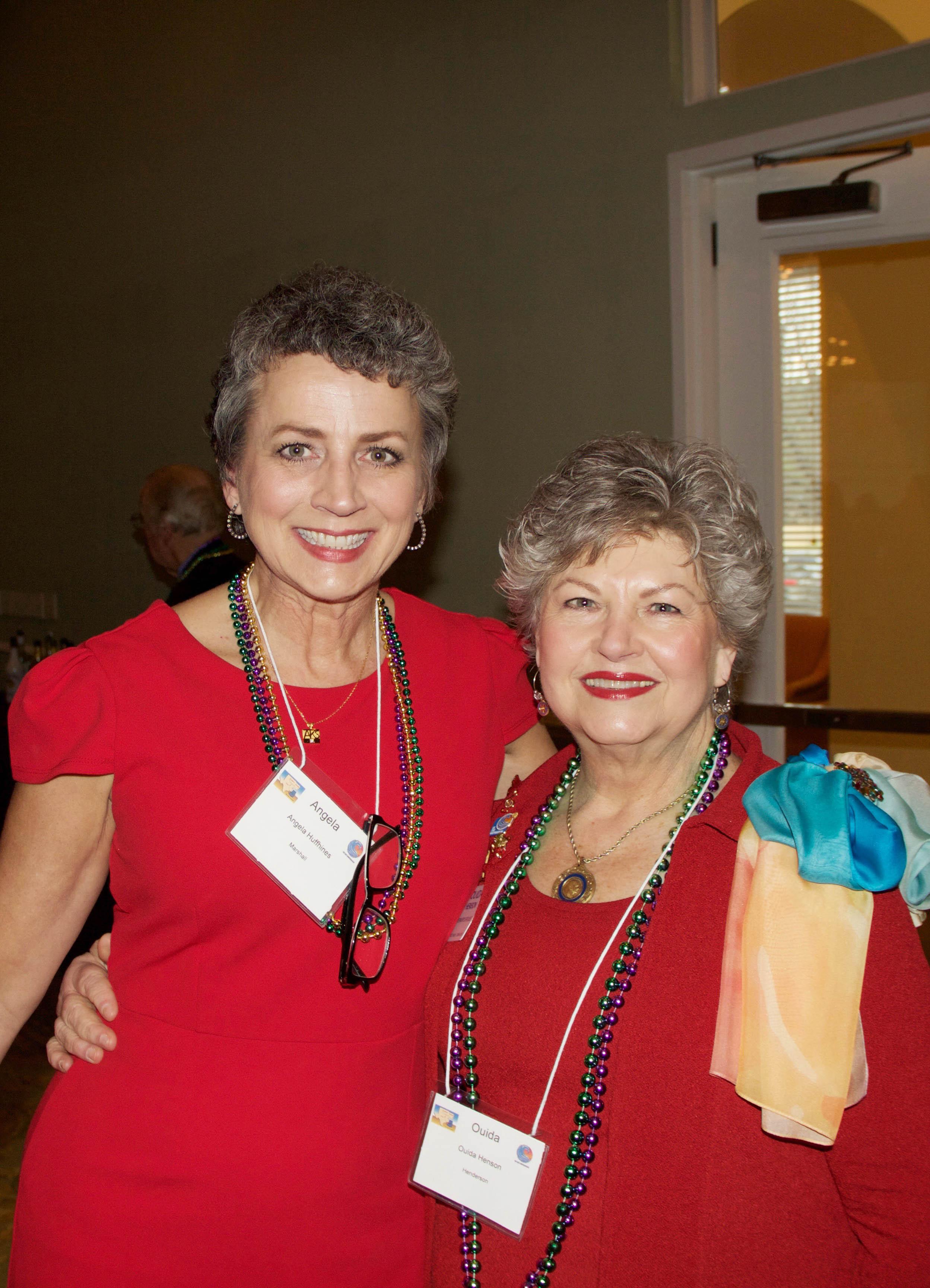 Angela Huffhines and Luisa Henson