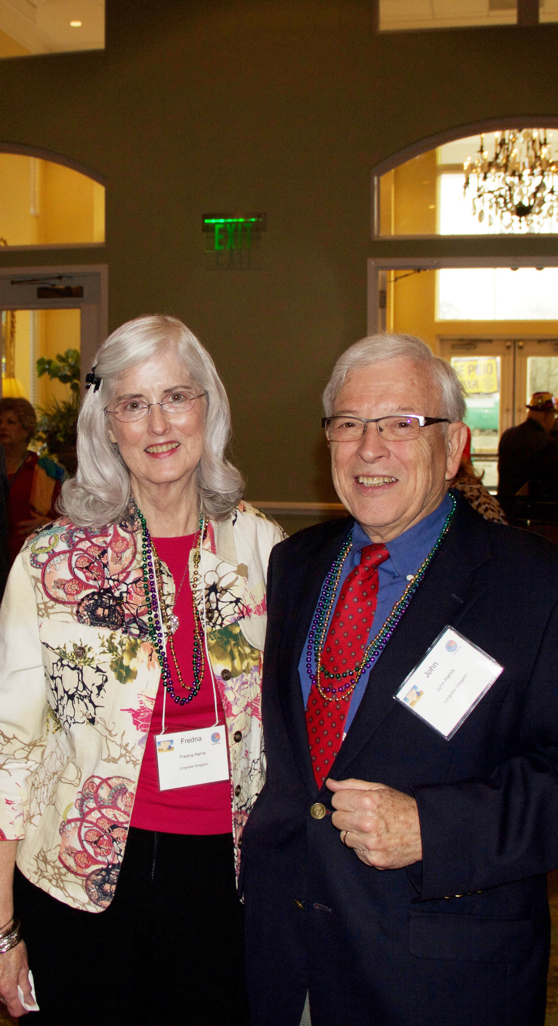 Fredna and John Harris