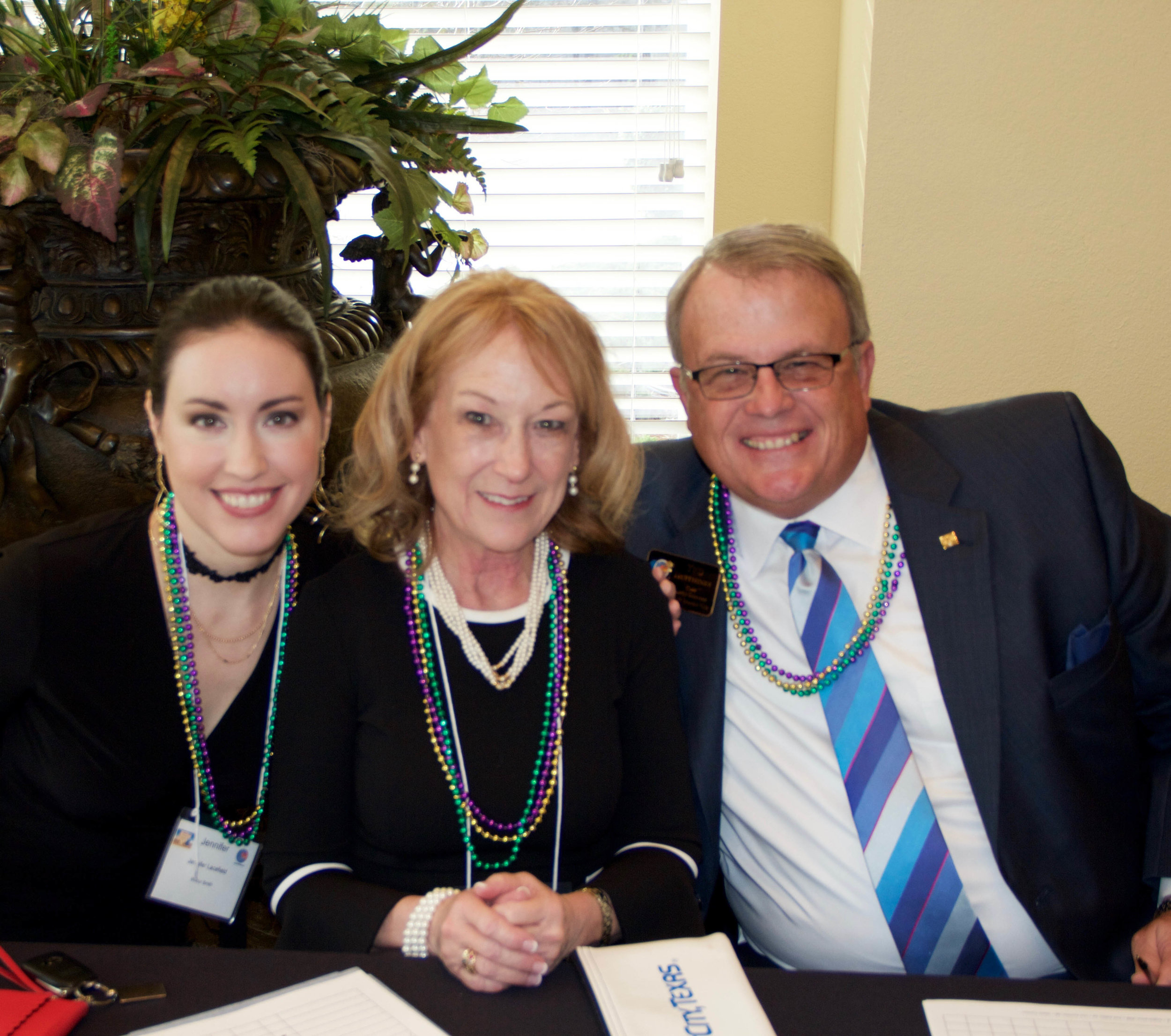Jennifer Lacefield, Kathey Graves and Ted Huffhines