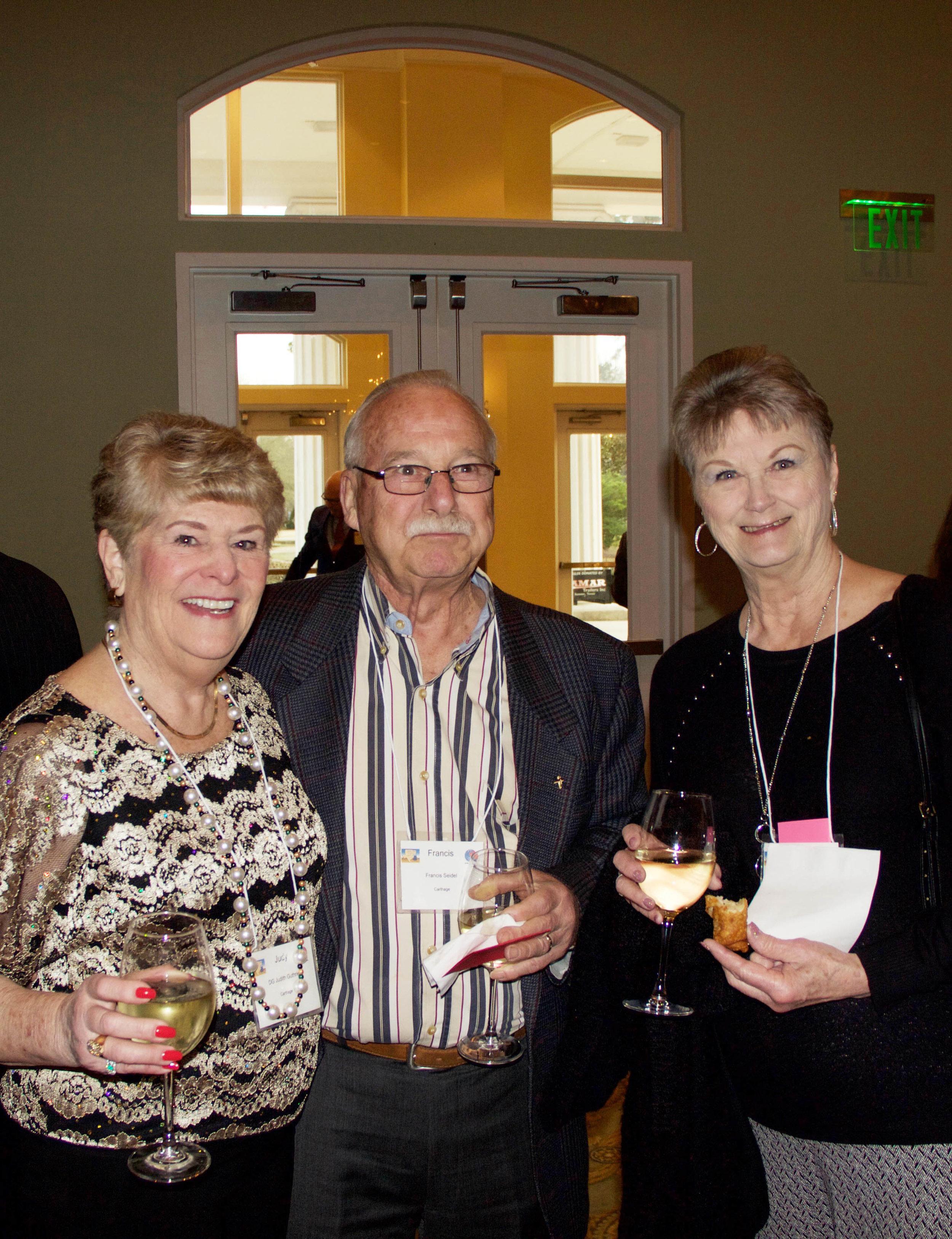 Judy Guthrie with Francis and Lynda Seidel