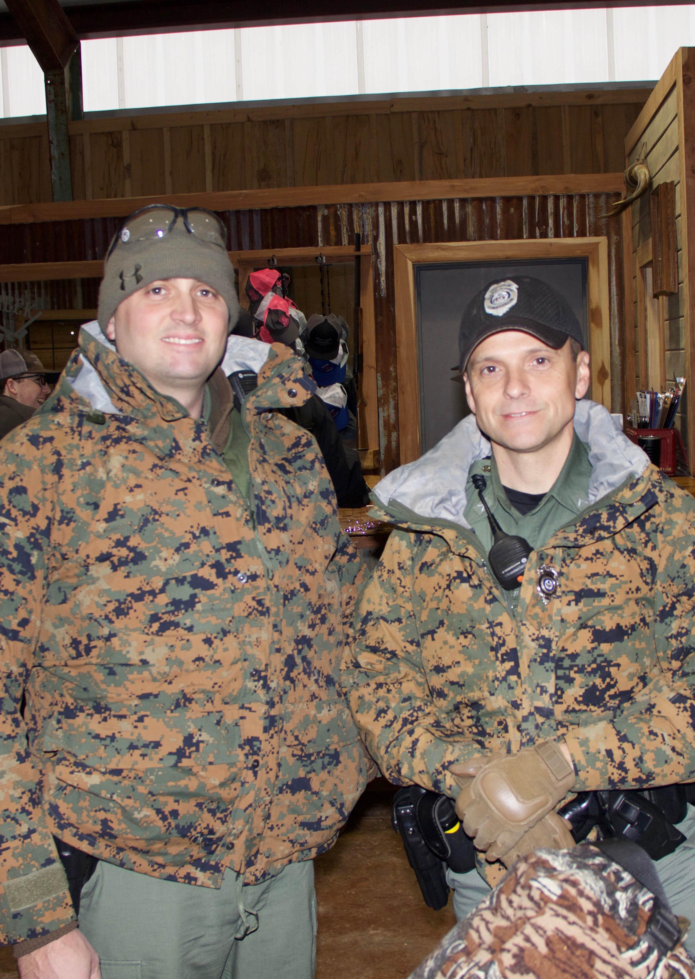 Arkansas Game & Fish Corporal Jay Thomas and Wildlife Officer 1st Class John Cowart