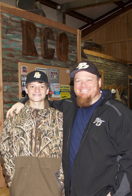 Luke Meyer and Mark Windham