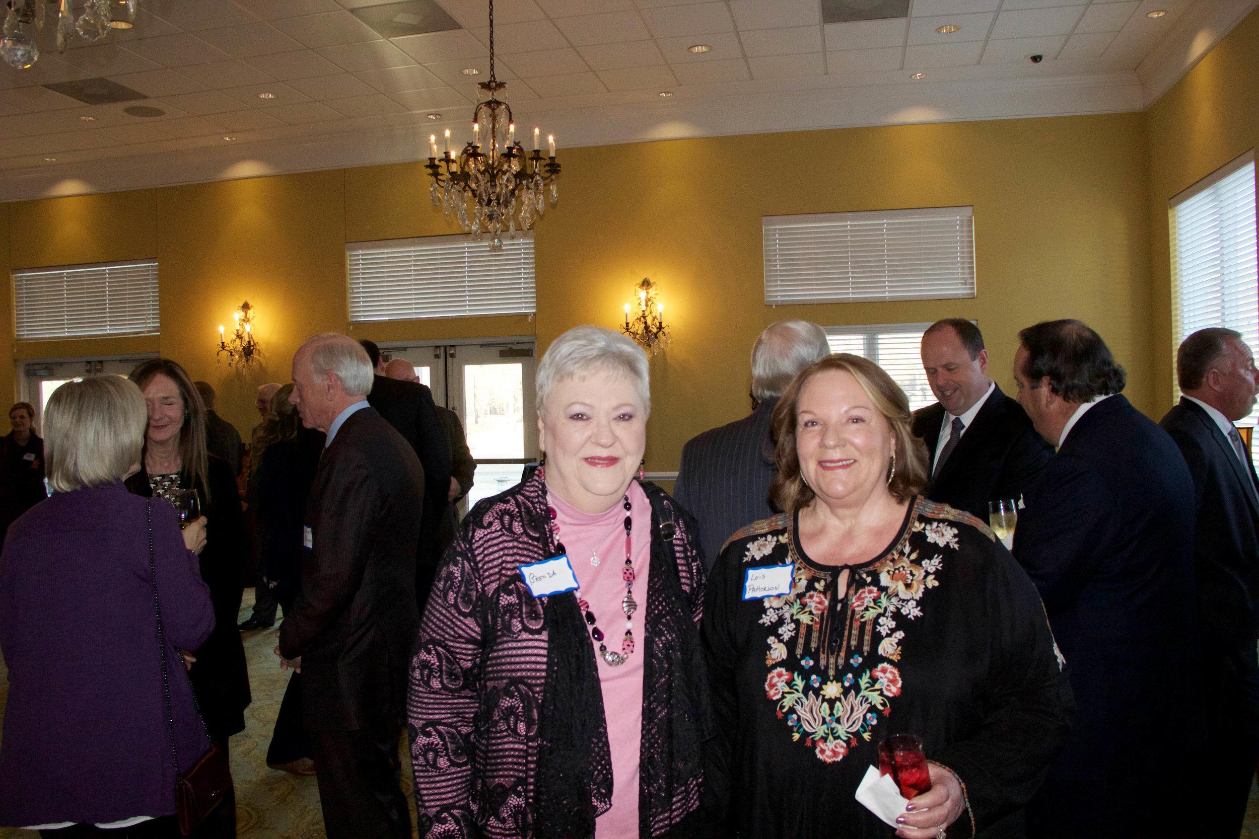 Brenda Milton and Lois Patterson