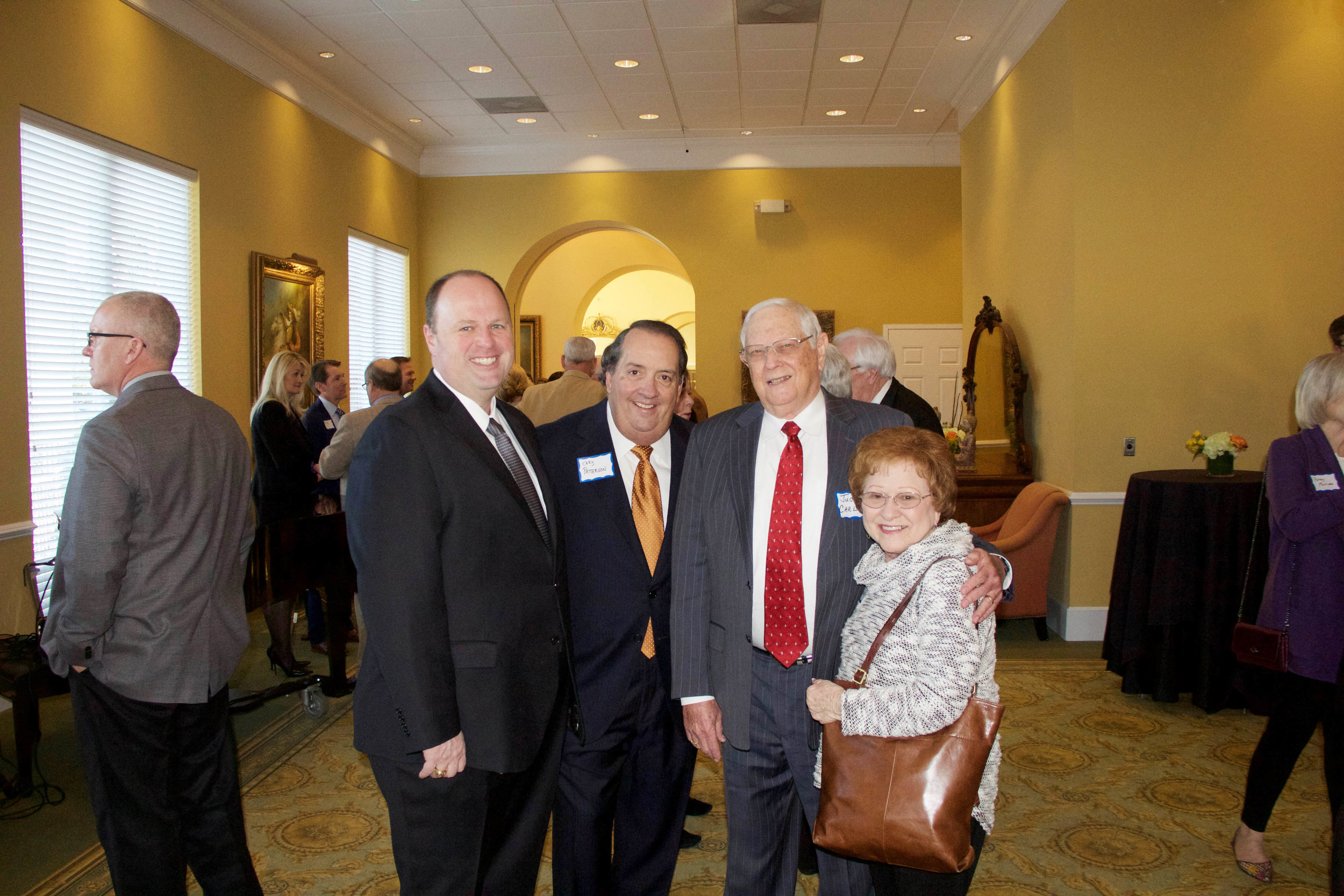 James Henry Russell. Cary Patterson, Judge James and Nancy Carlow