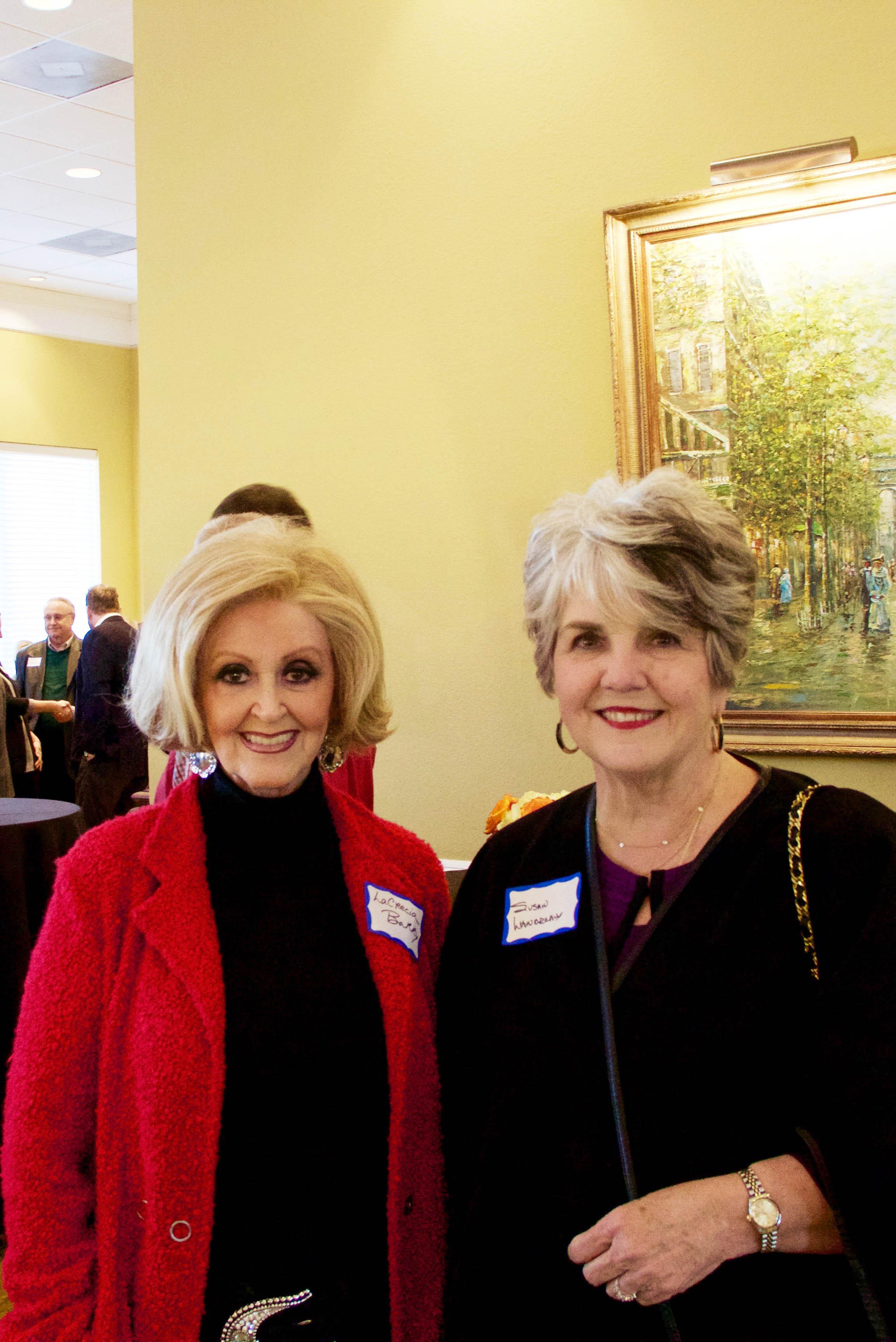 LaCrecia Barry and Susan Landreaux