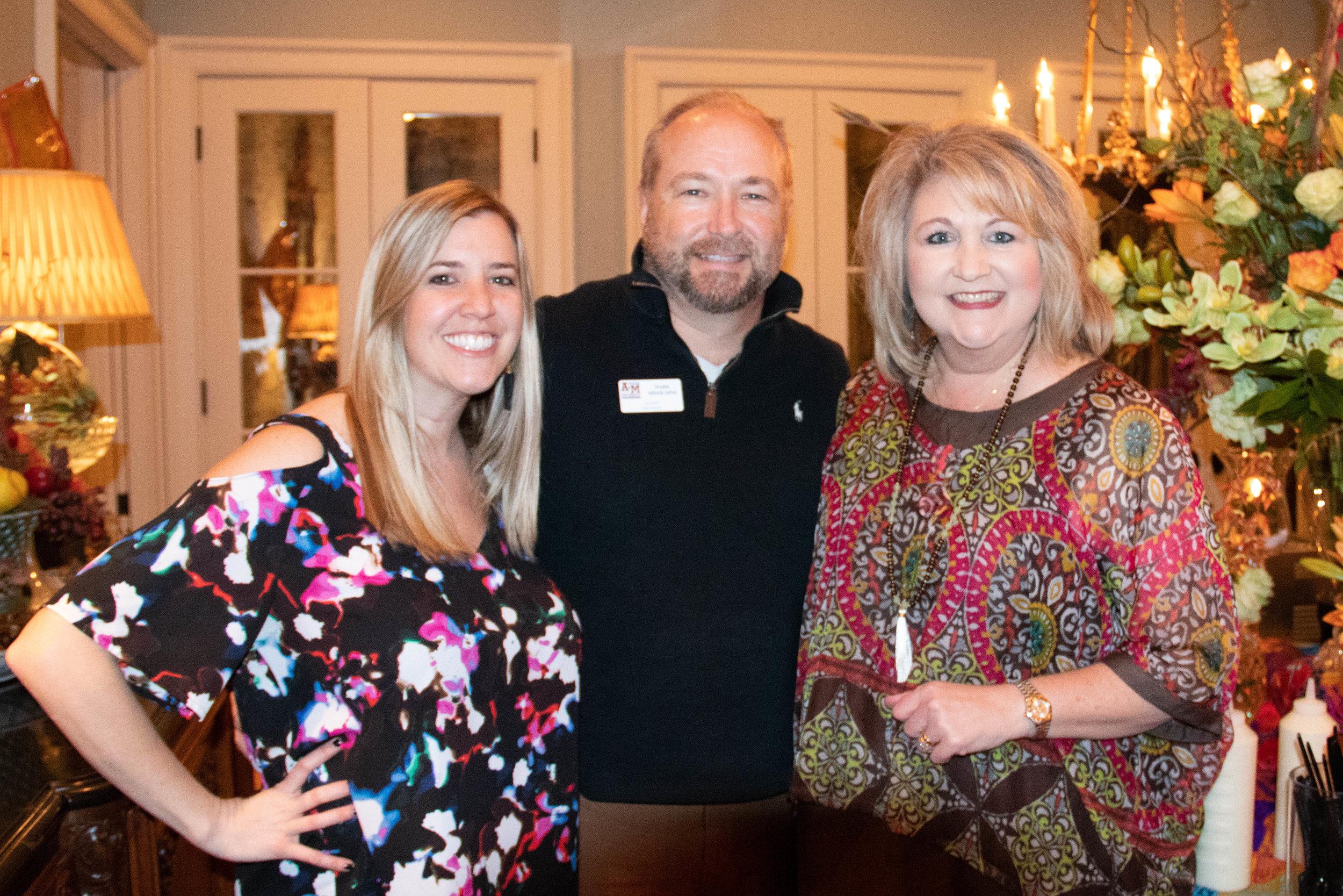 Courtney Boeckmann, Mark Missildine and LeAnne Wright