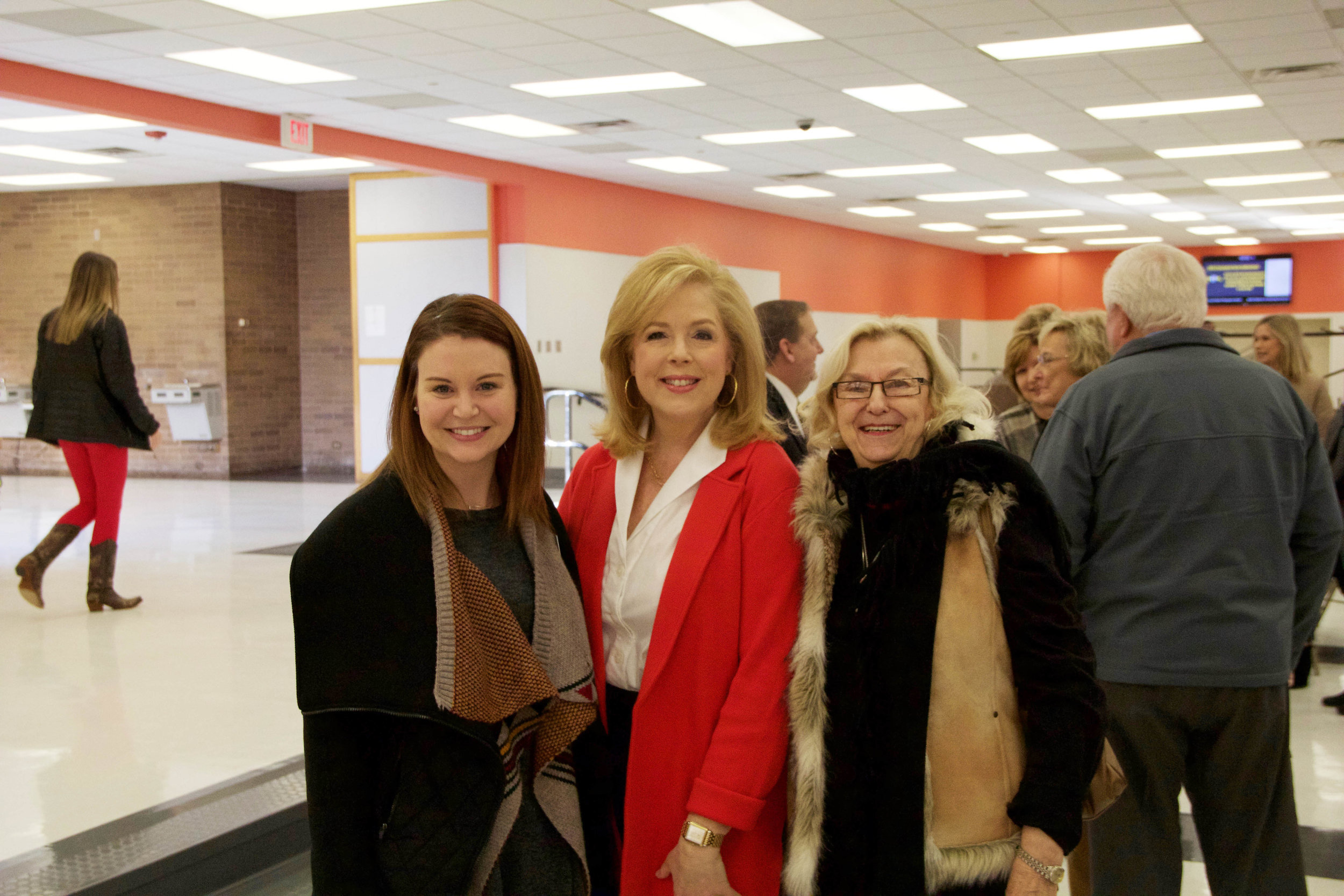 Whitney Farmer, Melanie Cockerell and Nancy Tullos