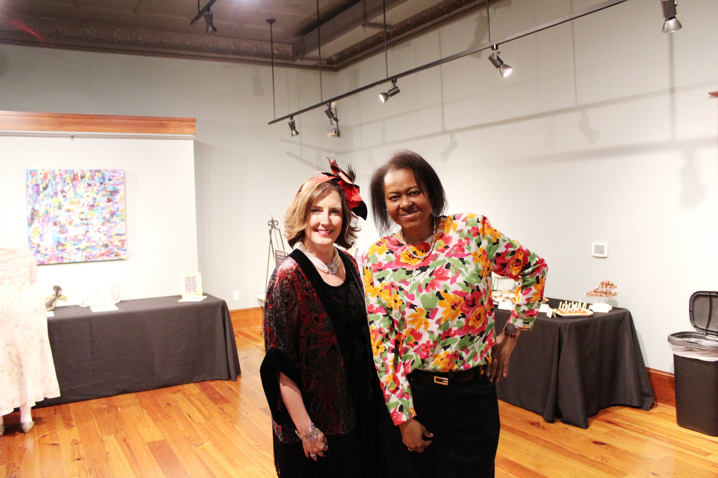 Tammie Duncan and Juanita Roberson