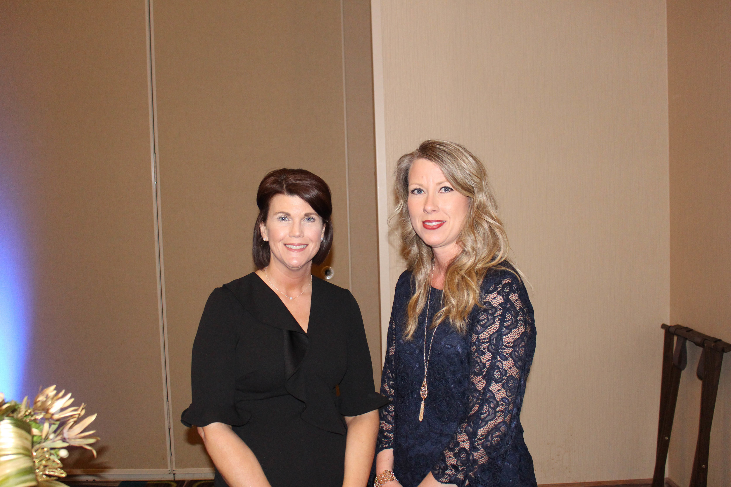 Stephanie Carver and Kellea Baker