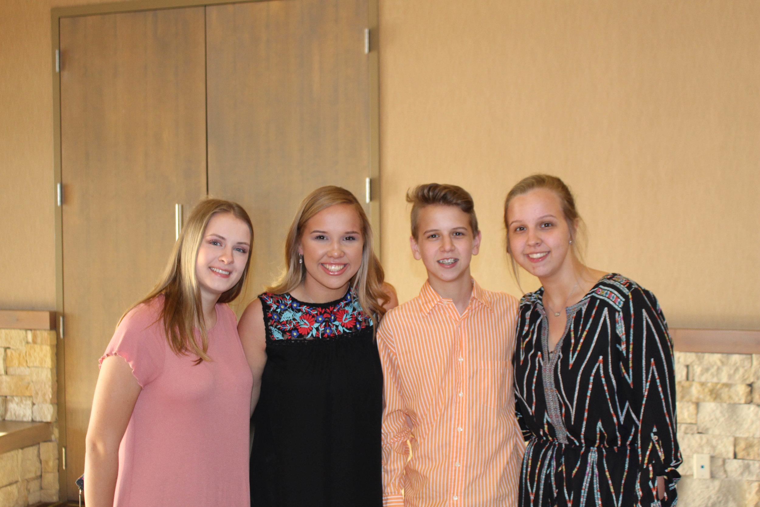 Annika Richter, Bailey Hall, Trace Hall and Madison Hall